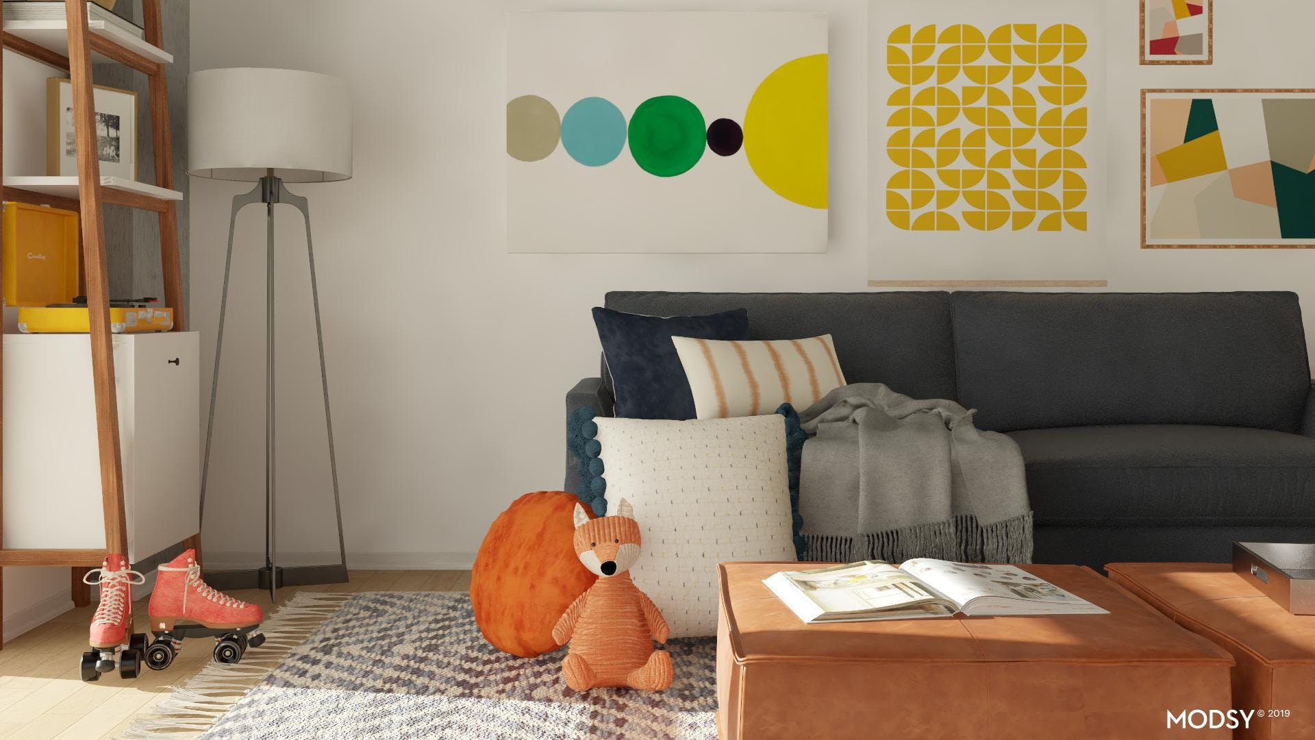 A Kid Friendly Living Space