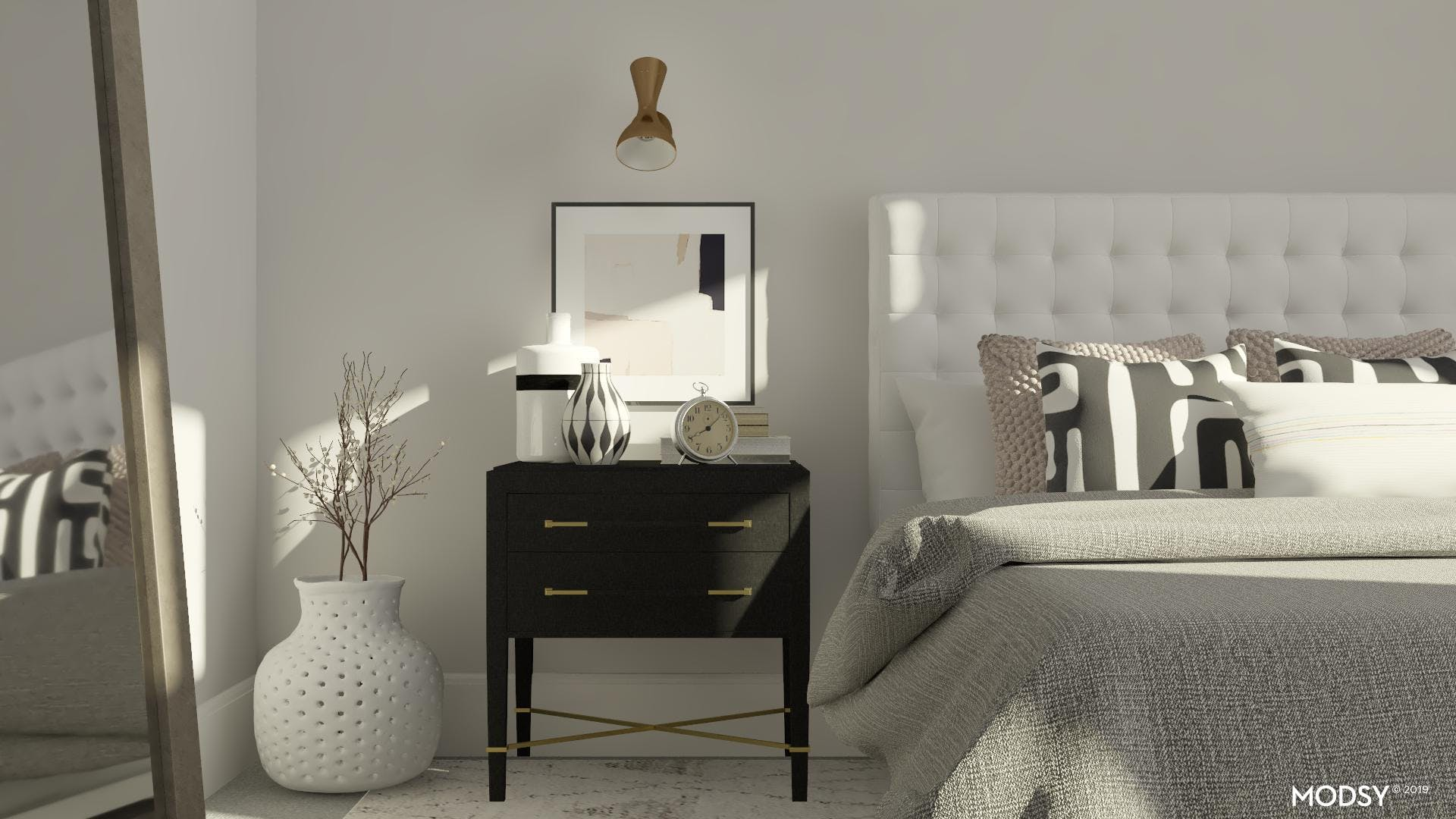 Styling Your Mid-Century Nightstand