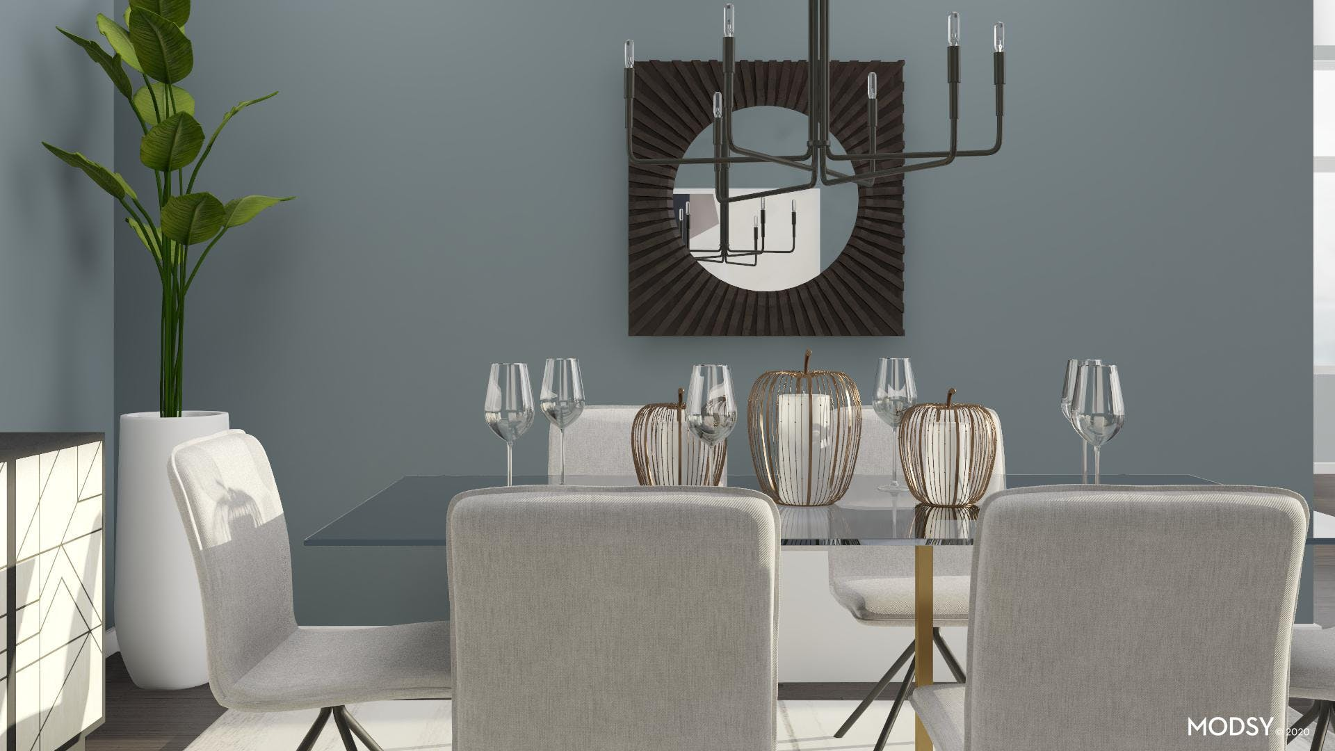 Contemporary and Minimal Dining