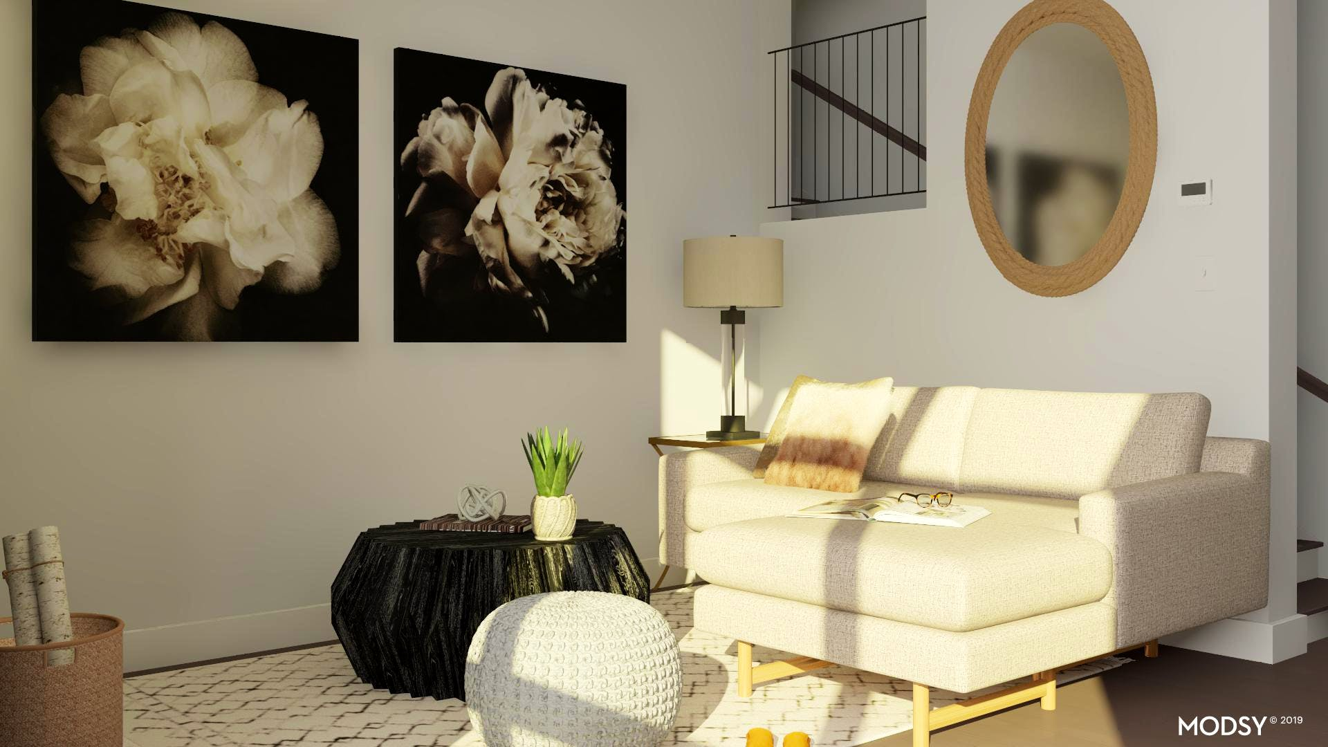 Tight and Neutral Living Space