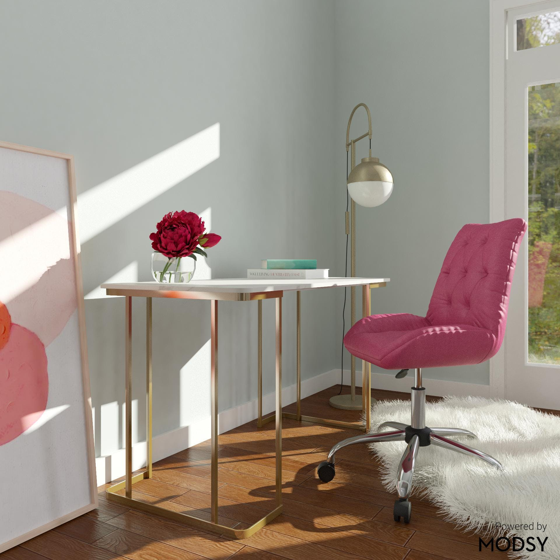 Glam Office with Fresh and Fabulous Styling