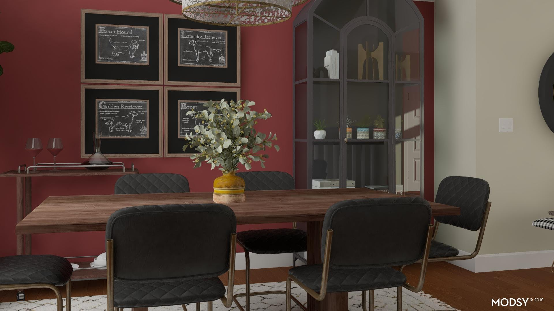 Industrial Dining: Dramatic Details