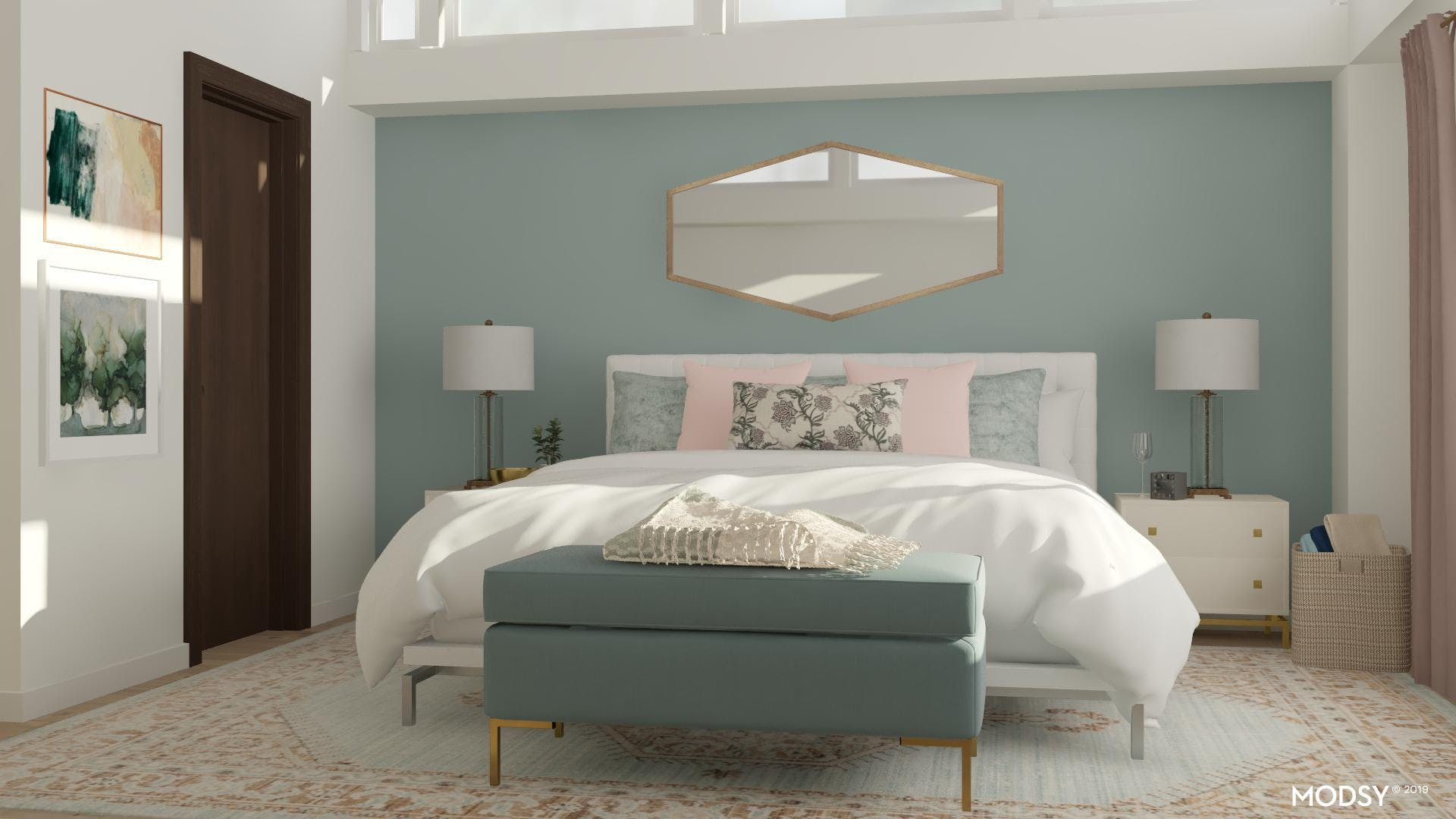 Soft and Sophisticated Master Bedroom