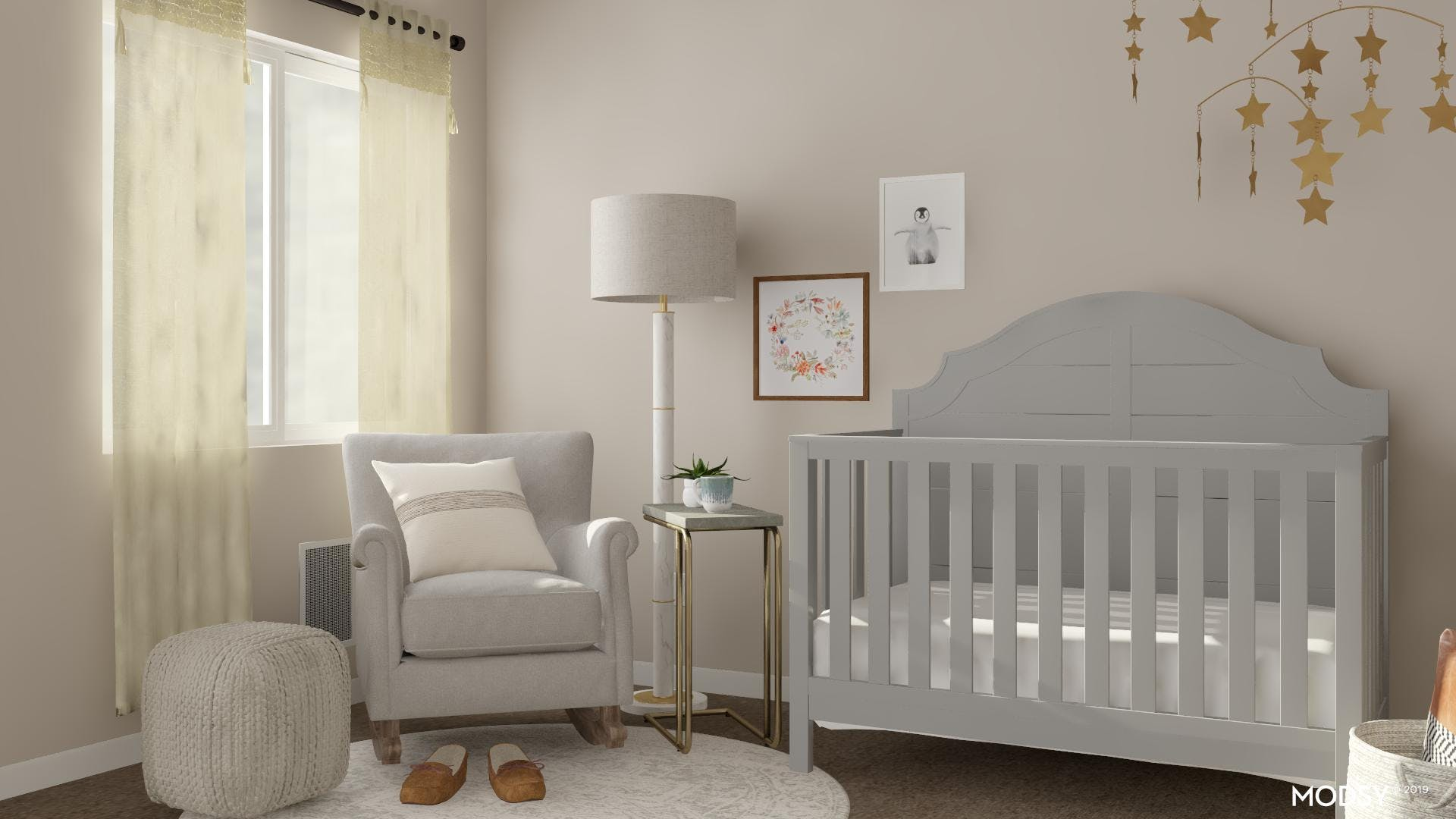 Comfortable Space In The Nursery