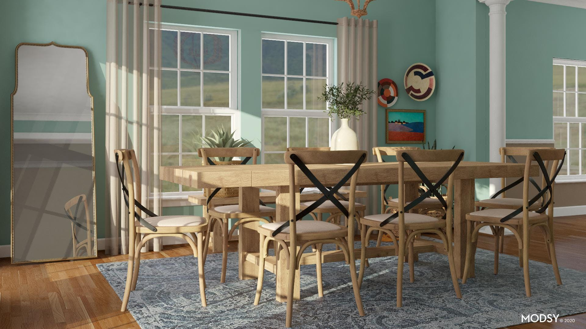 Simply Rustic: Dining