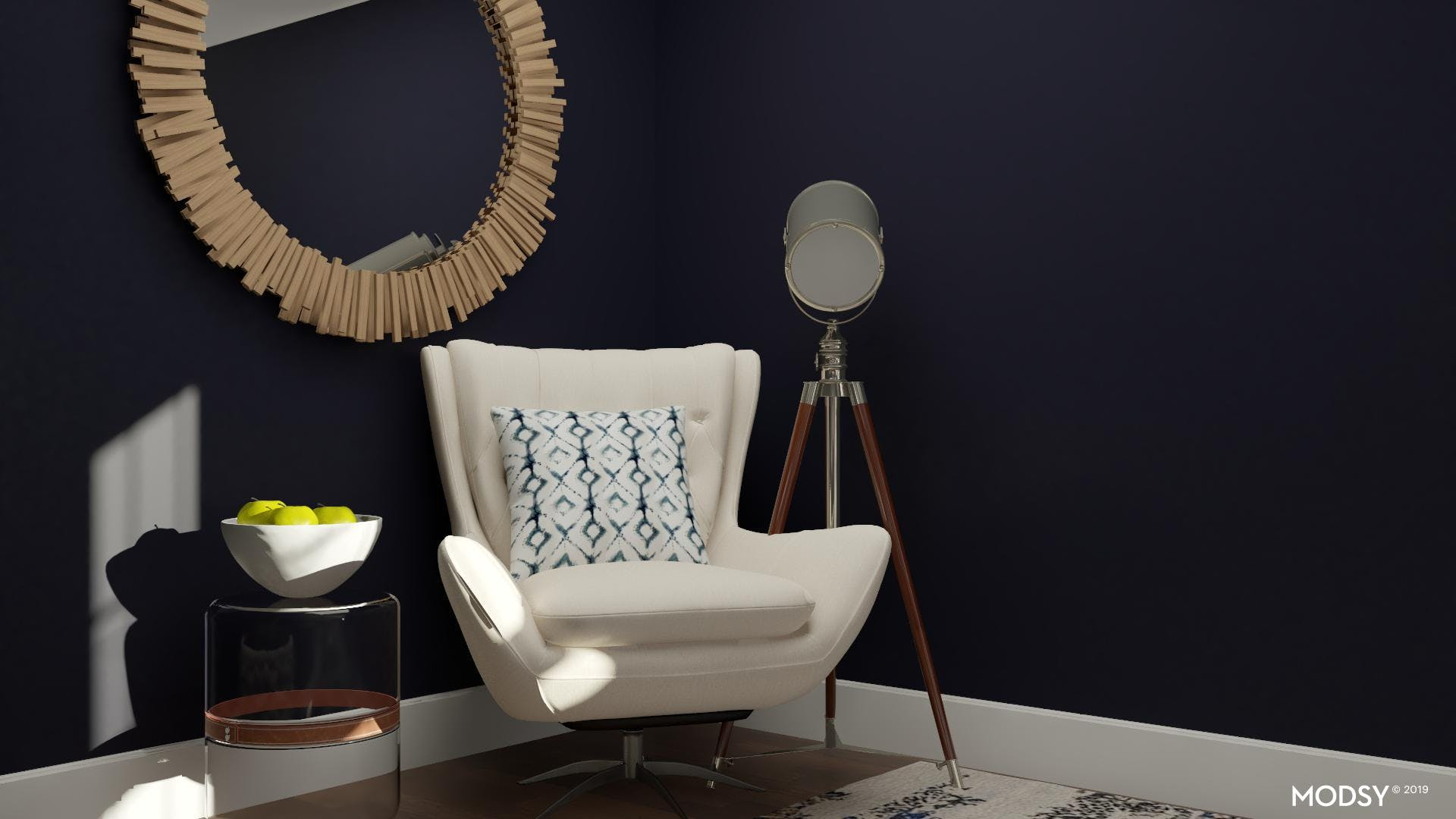 Daring, Eclectic And Blue