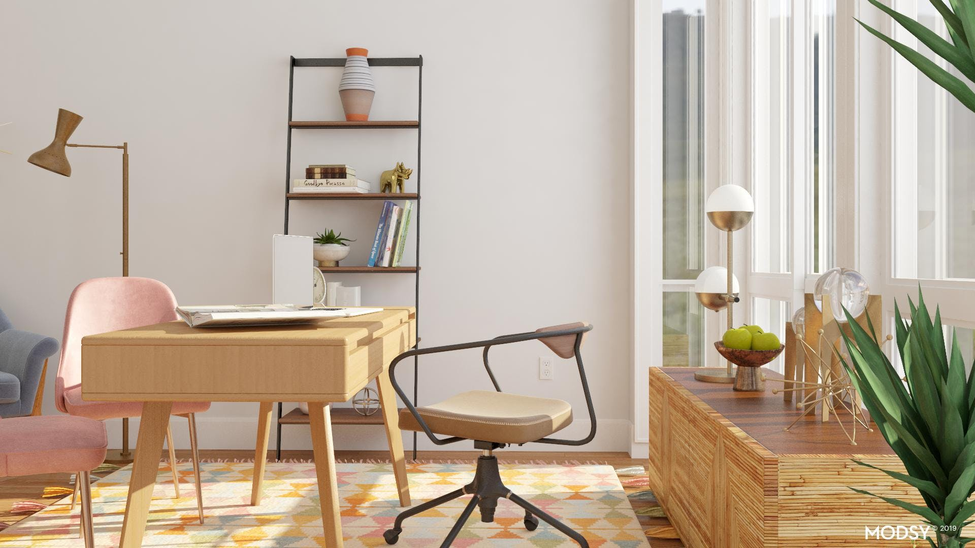 Mid Century Modern Furniture with Functionality
