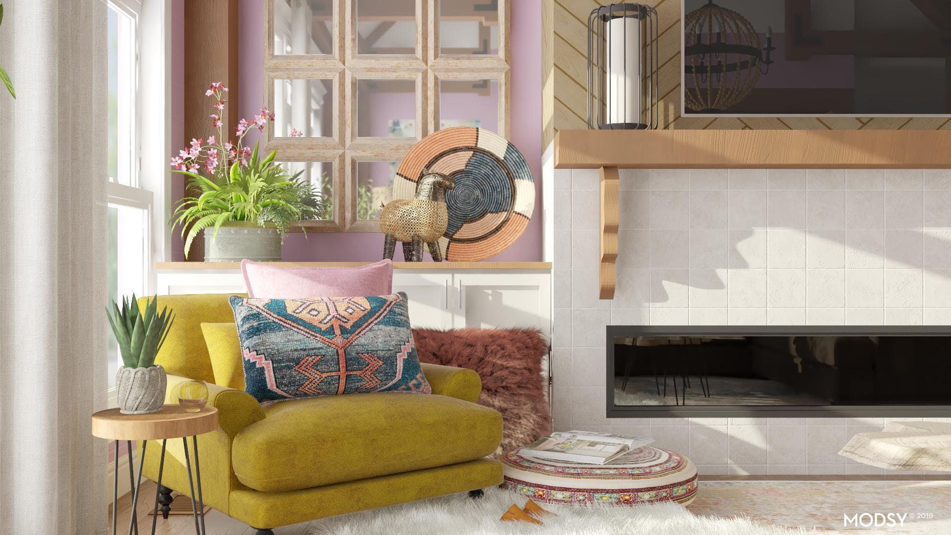 Eclectic Finds For Your Living Room