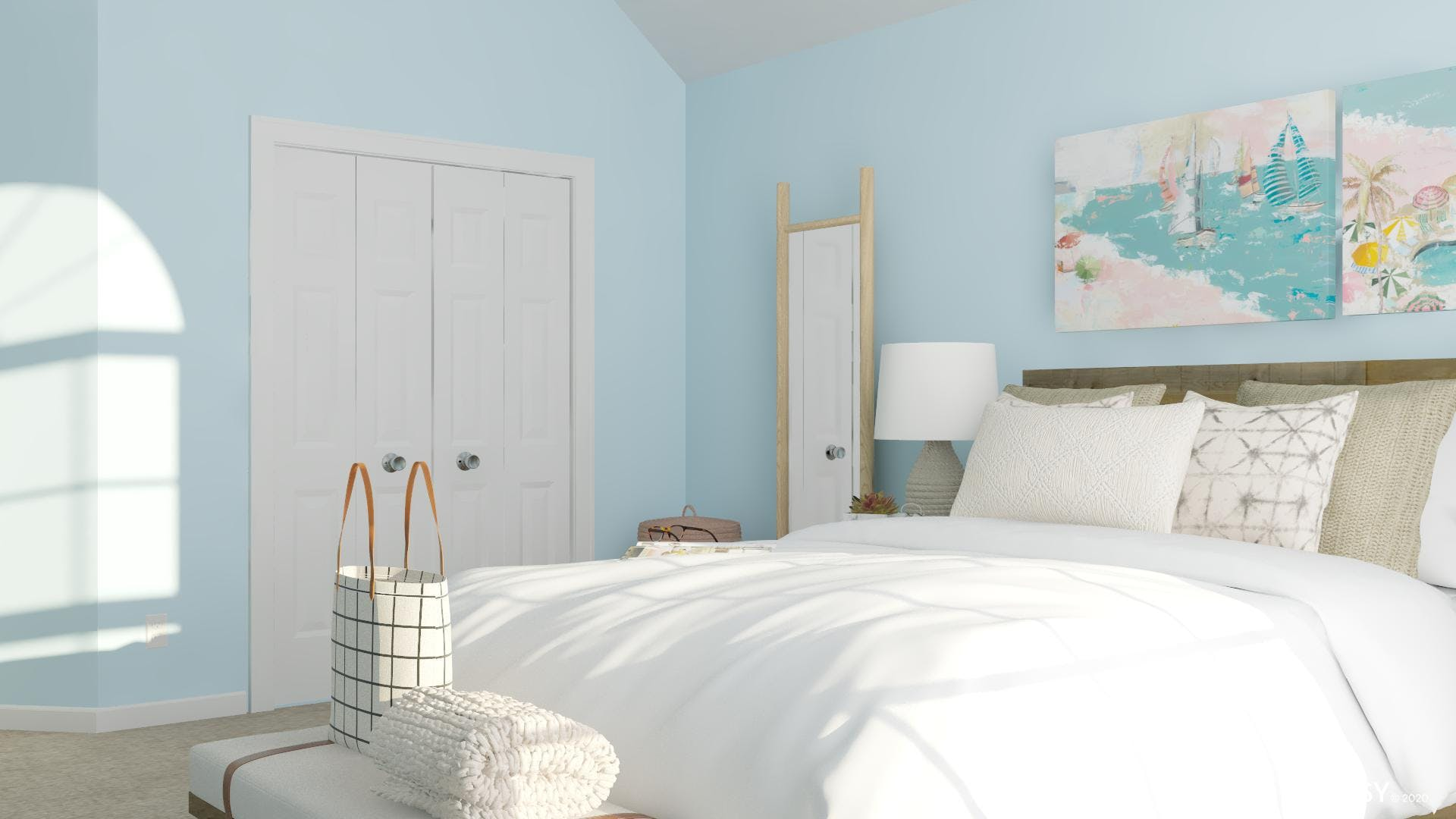 Simple Pastels Add Charm