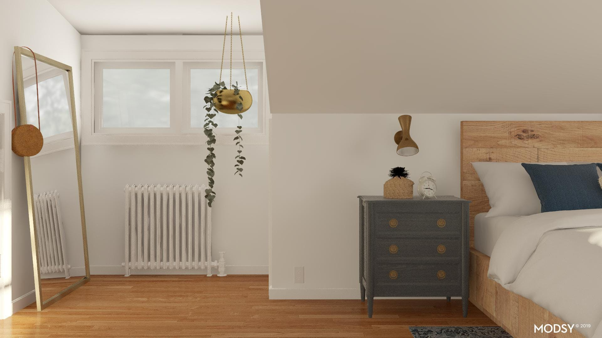 Layout Solution: Dressing Nook
