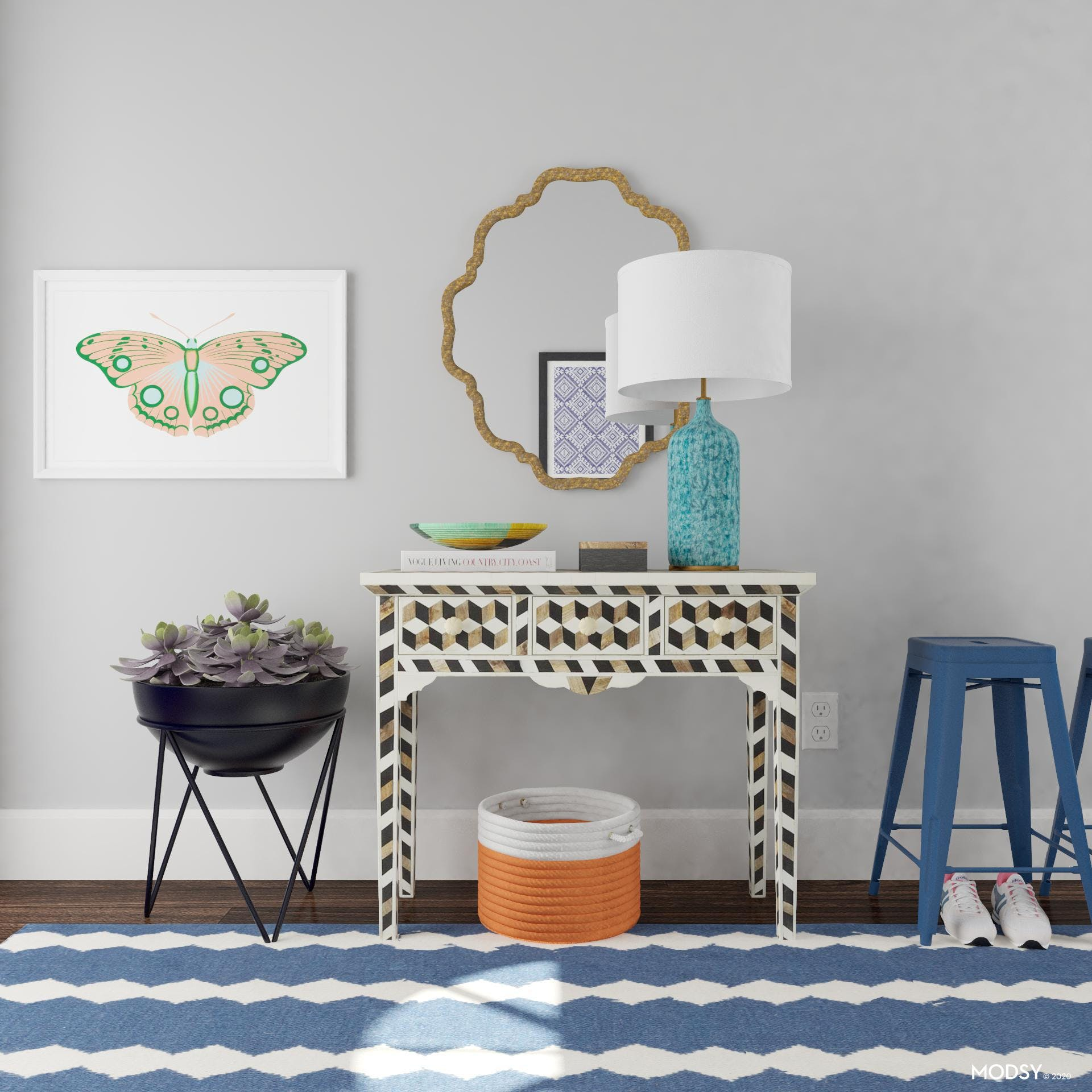 Settling In: Eclectic Entry