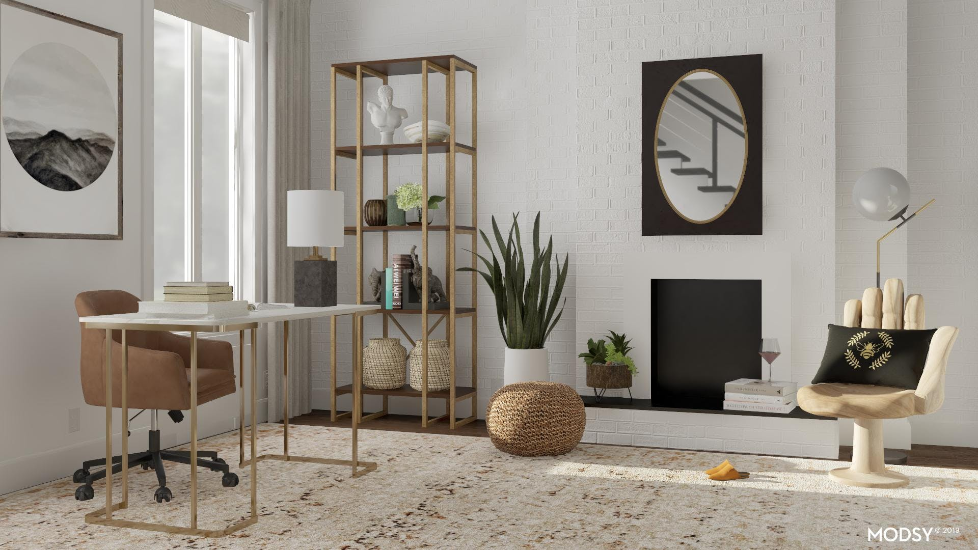 Chic Sophistication: Home Office
