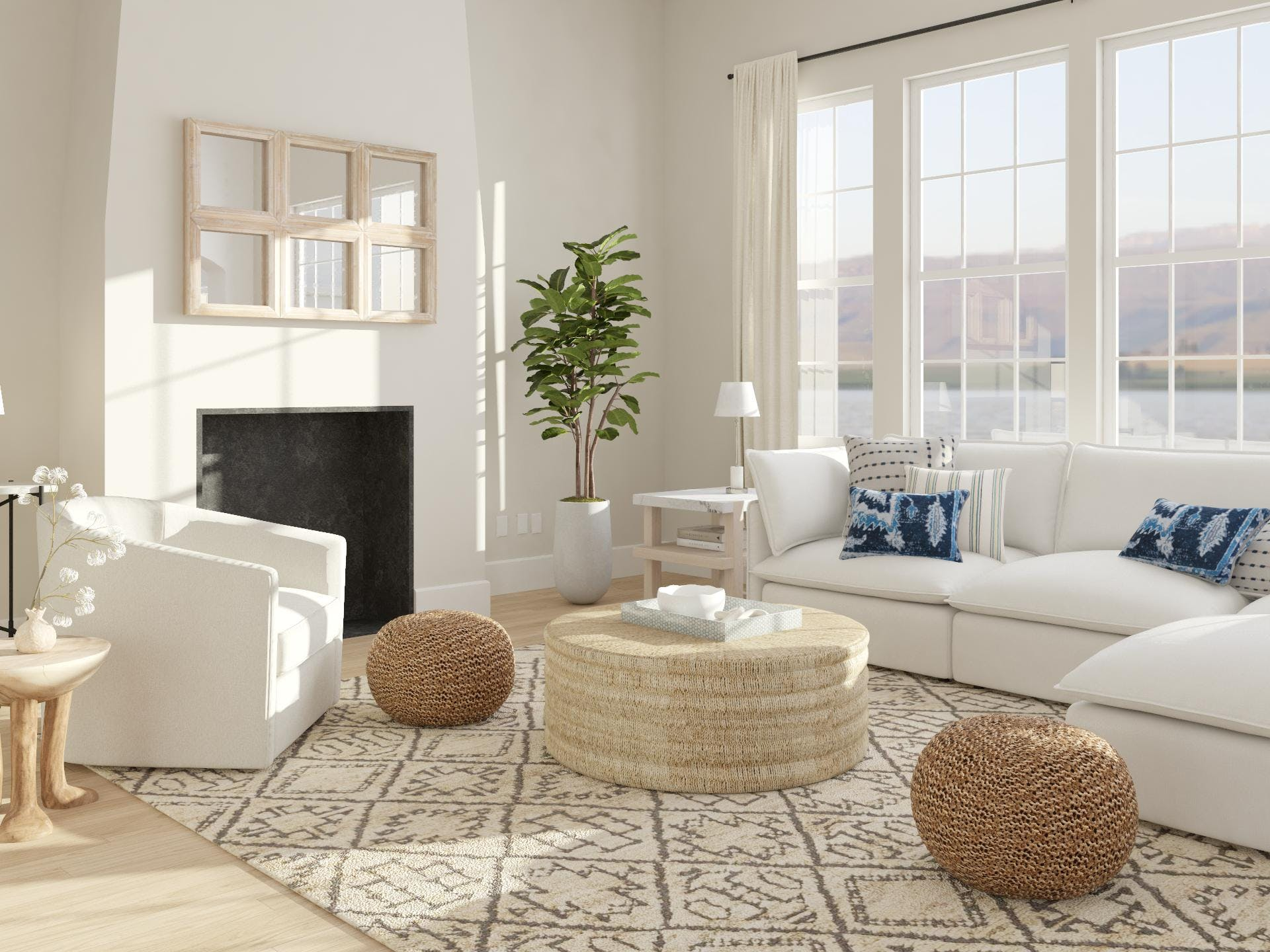 Coastal Living Room Design Ideas And Styles From Modsy Designers