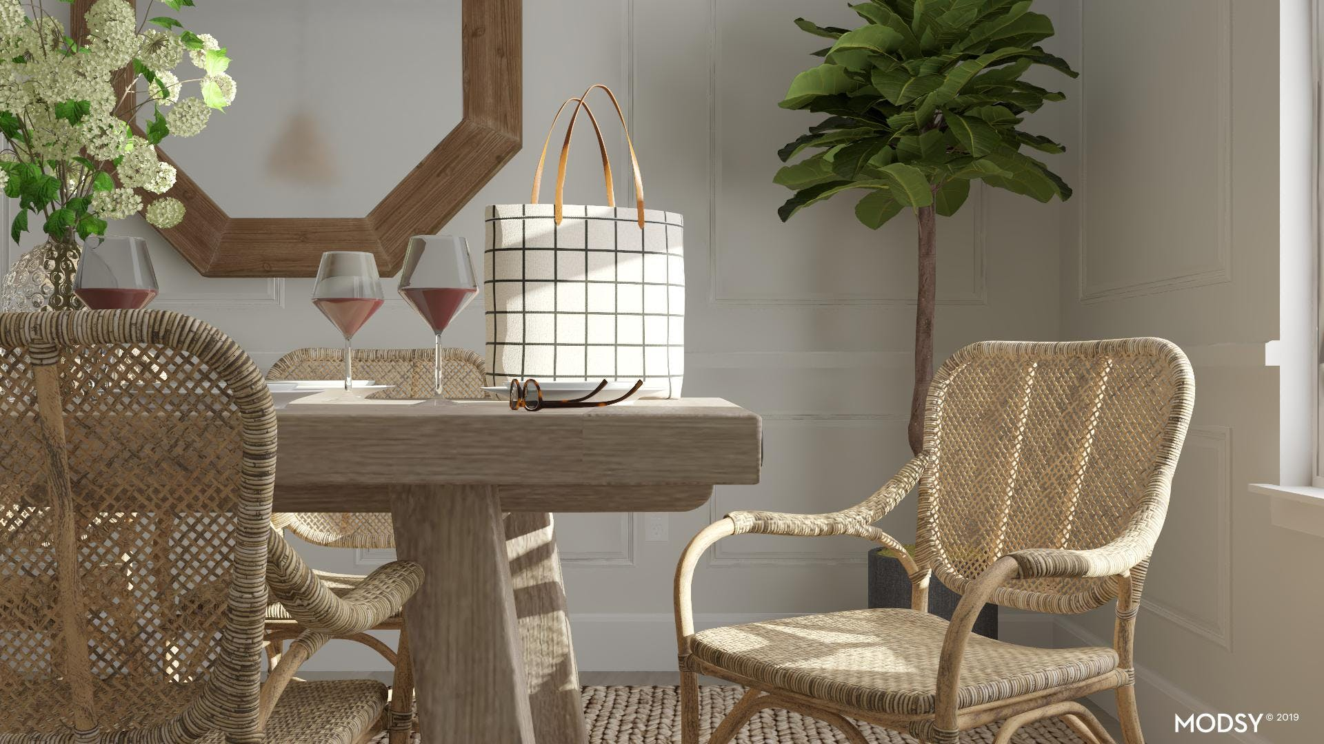 Dreamy Woven Dining Chairs