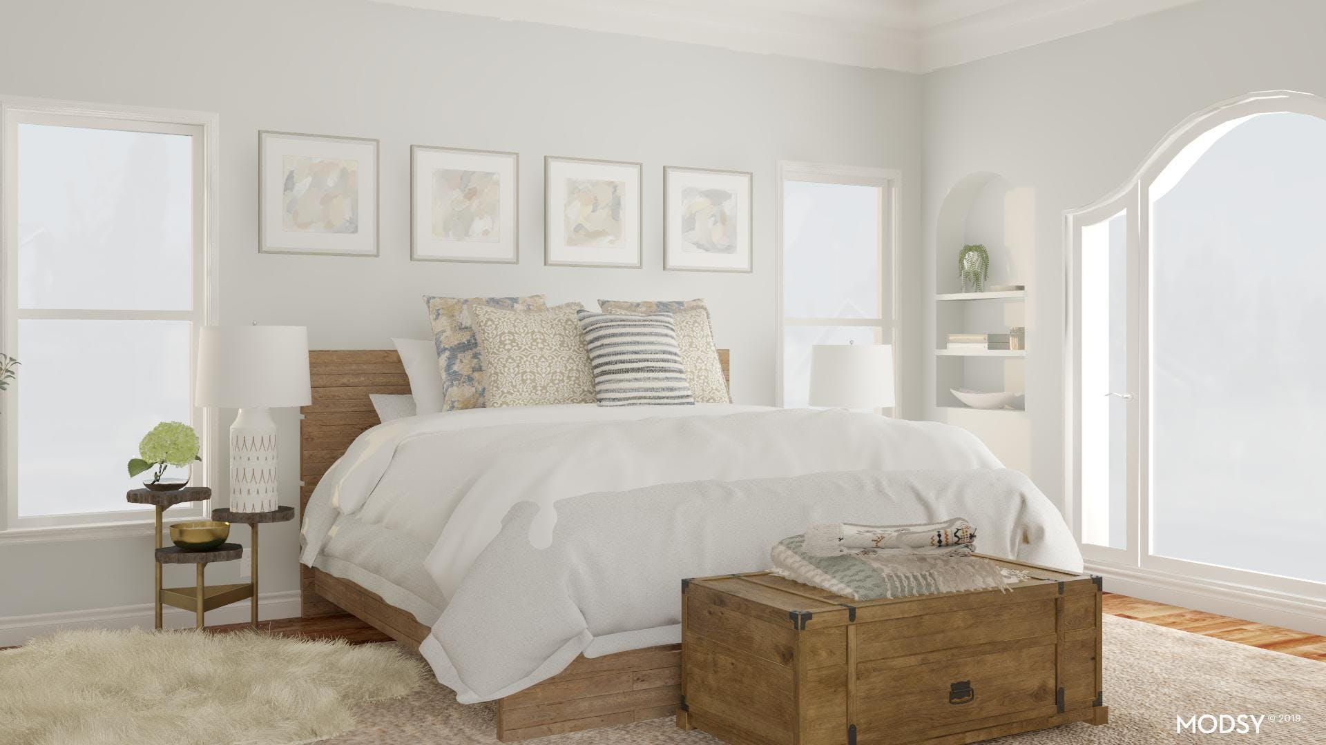 Neutral, Cozy and Rustic