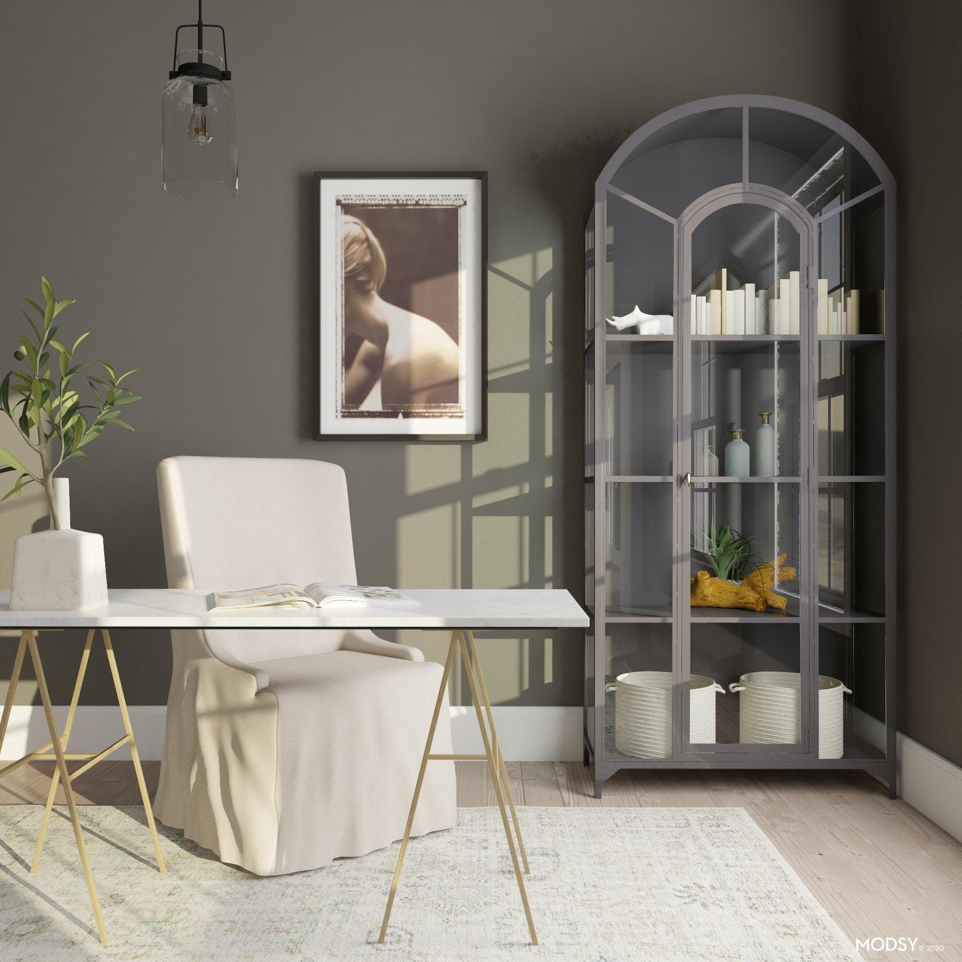 Urbane Bronze: Home Office