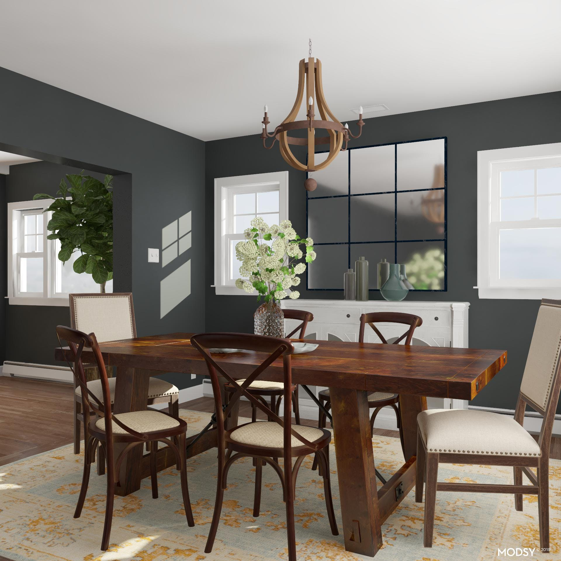 First Look Inside: Dining Rooms That Greet You