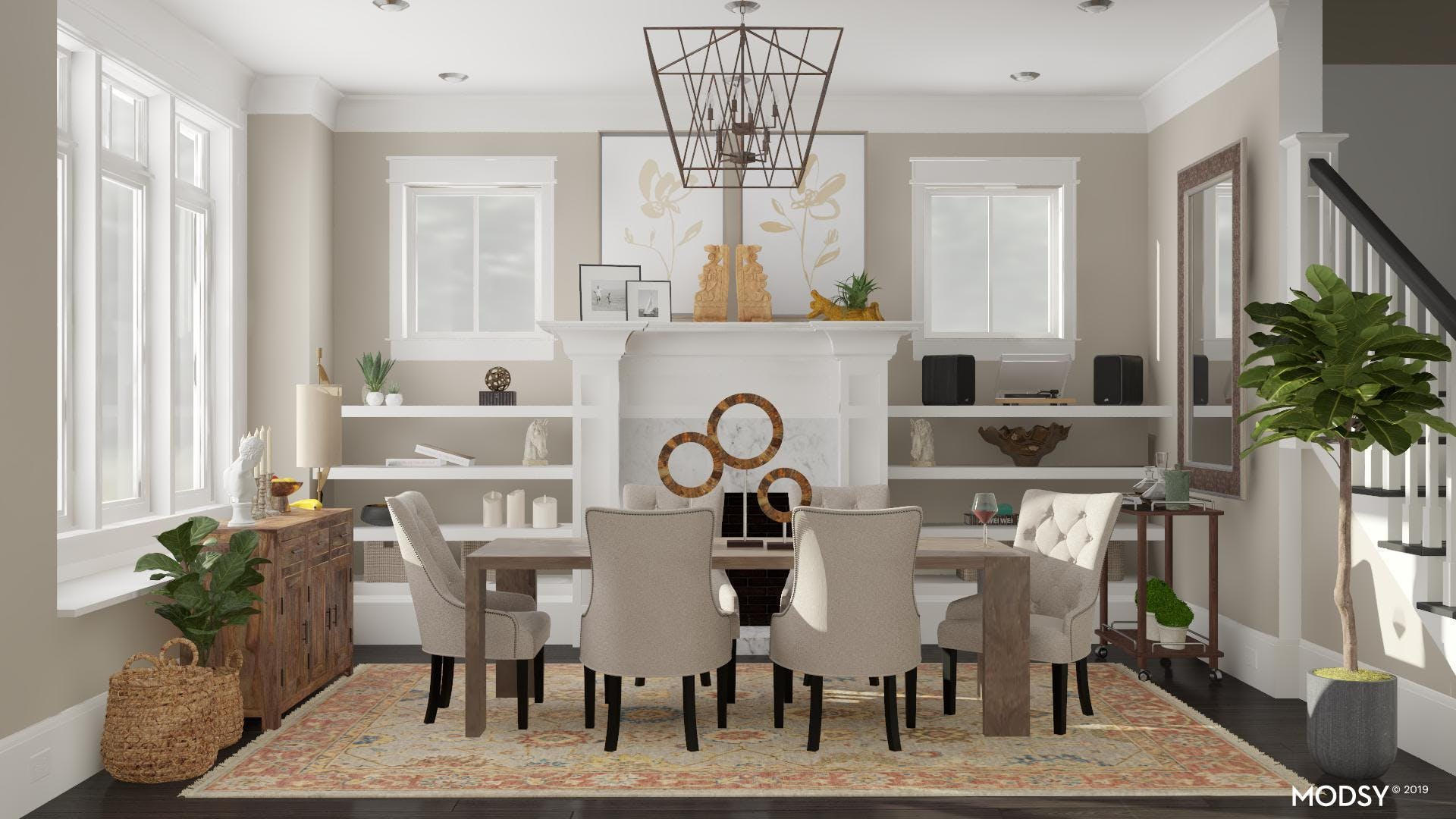 Glint Of Gold: Traditional Dining Room