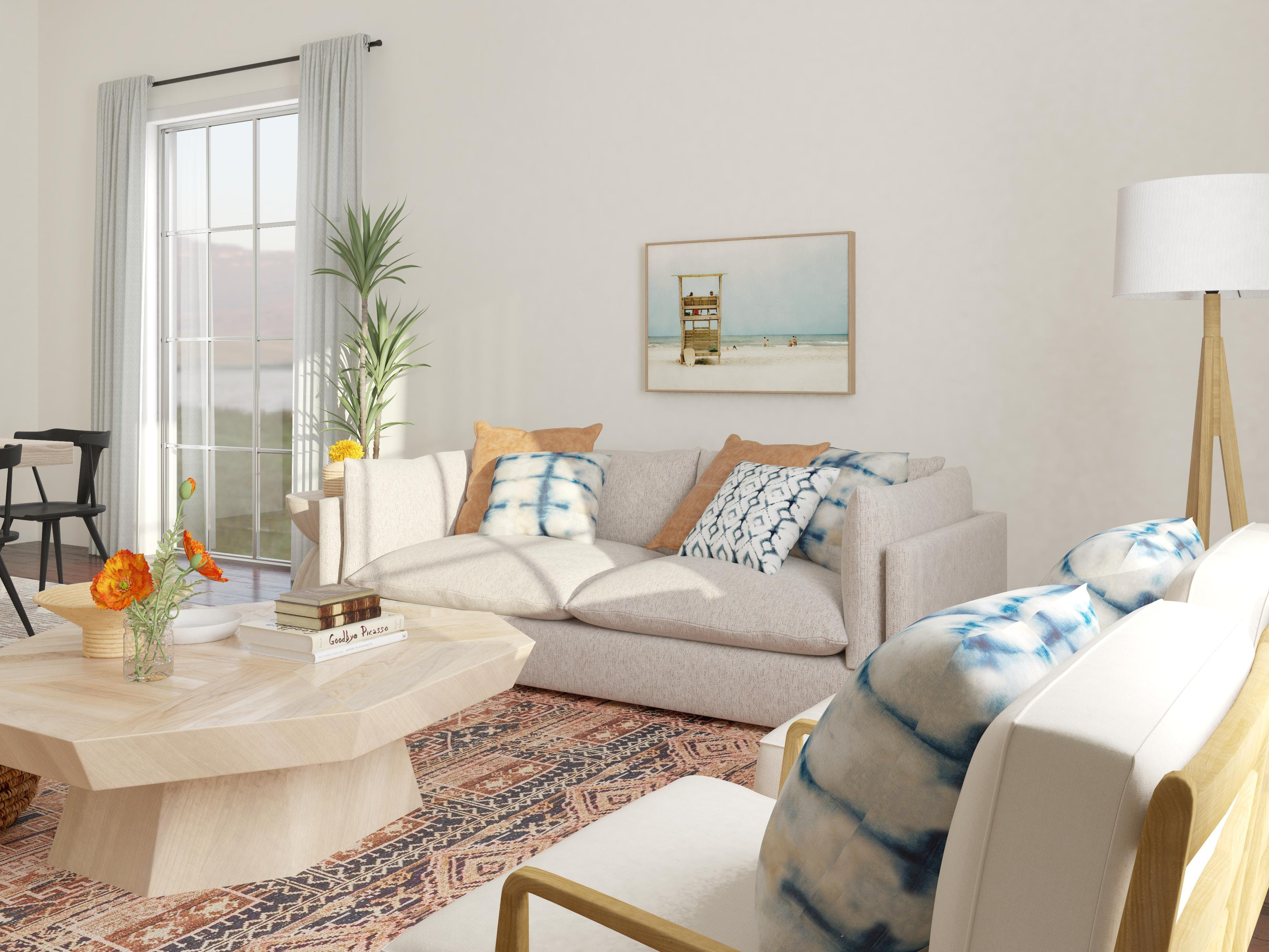 Modern Coastal With An Eclectic Twist