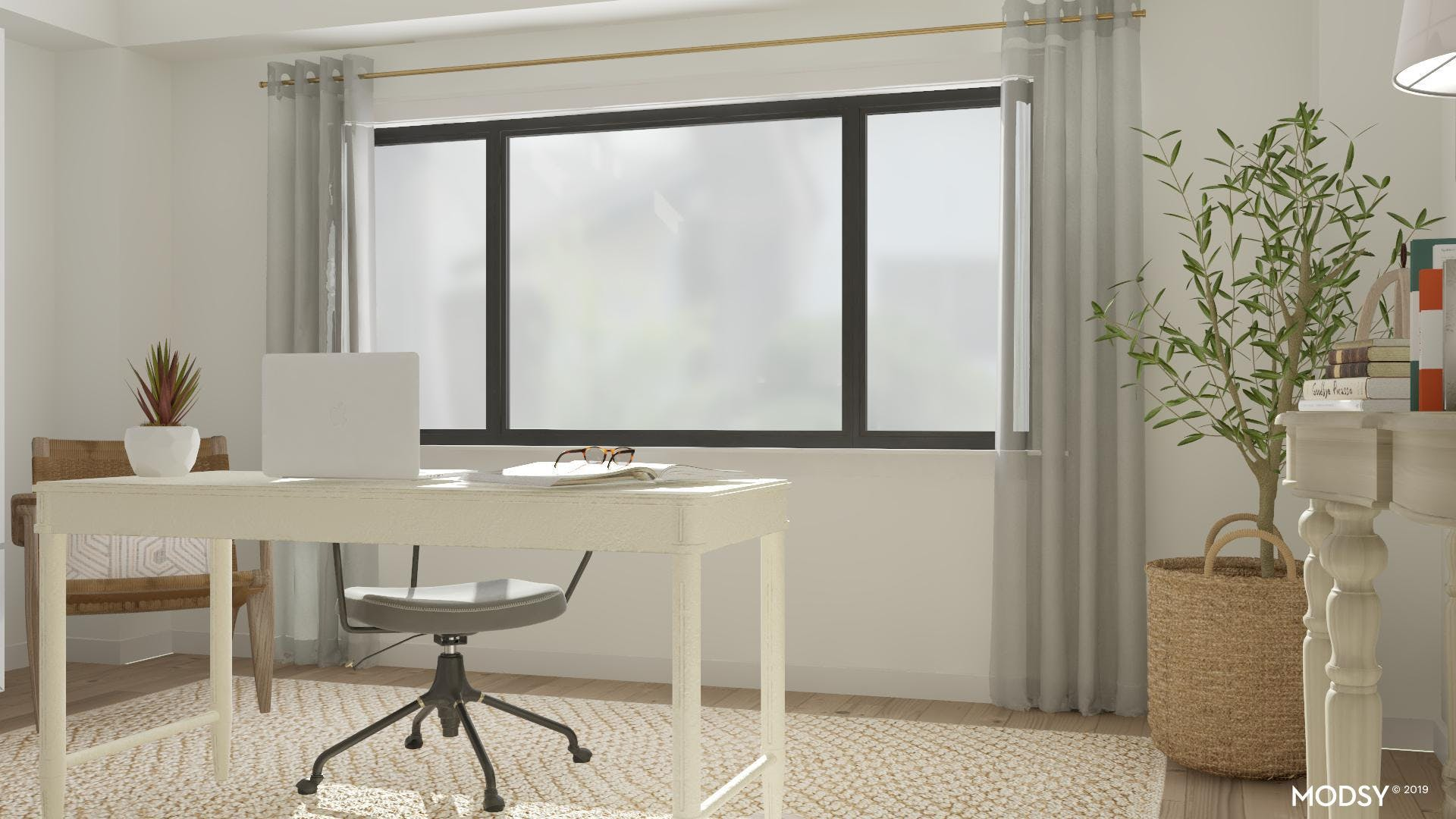 Natural Light in Home Office