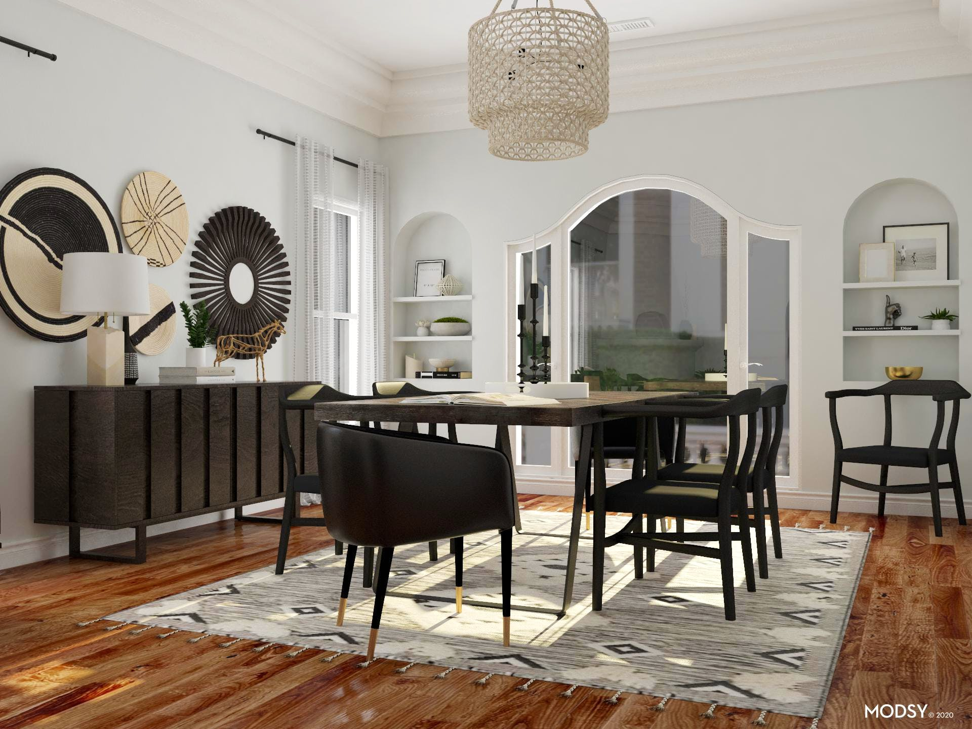 A Dining Room Made For Entertainment