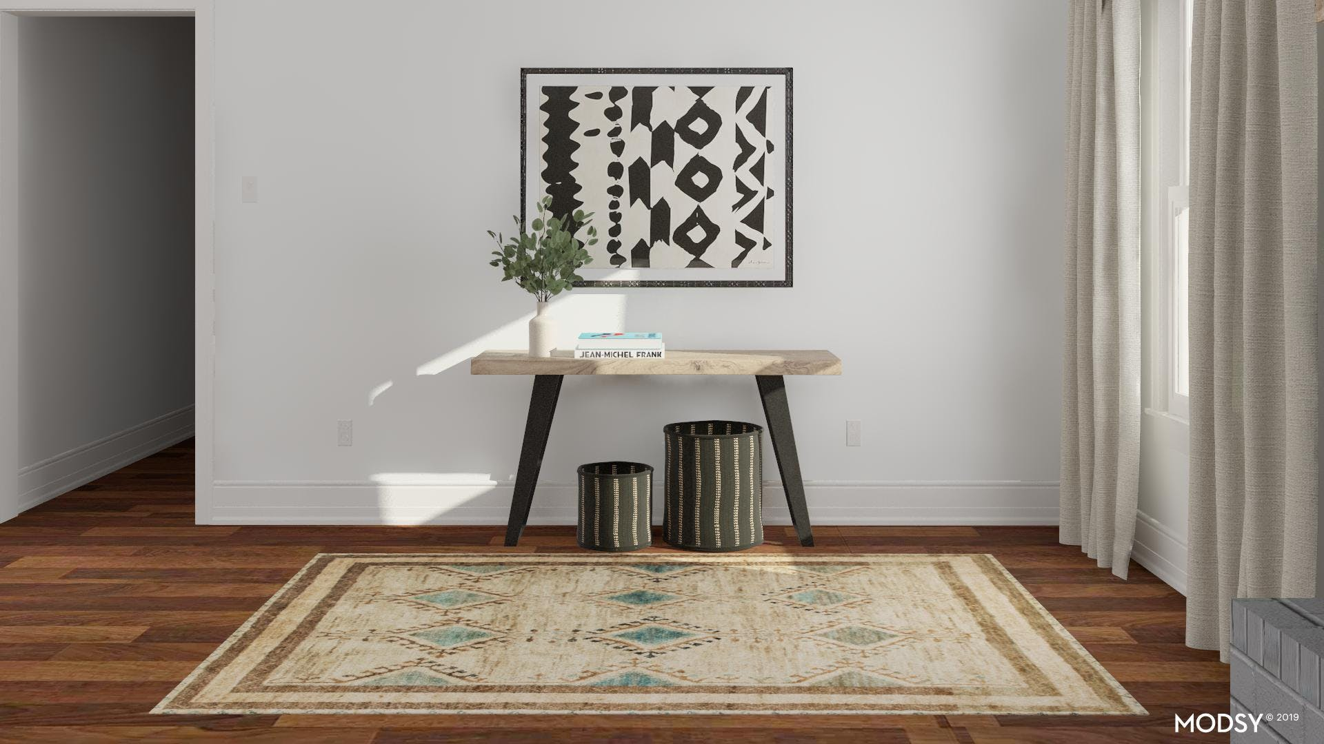 Stylish Eclectic Entryway
