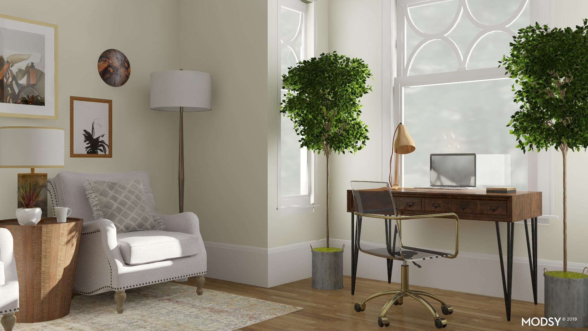 Eclectic Mix: Traditional & Modern
