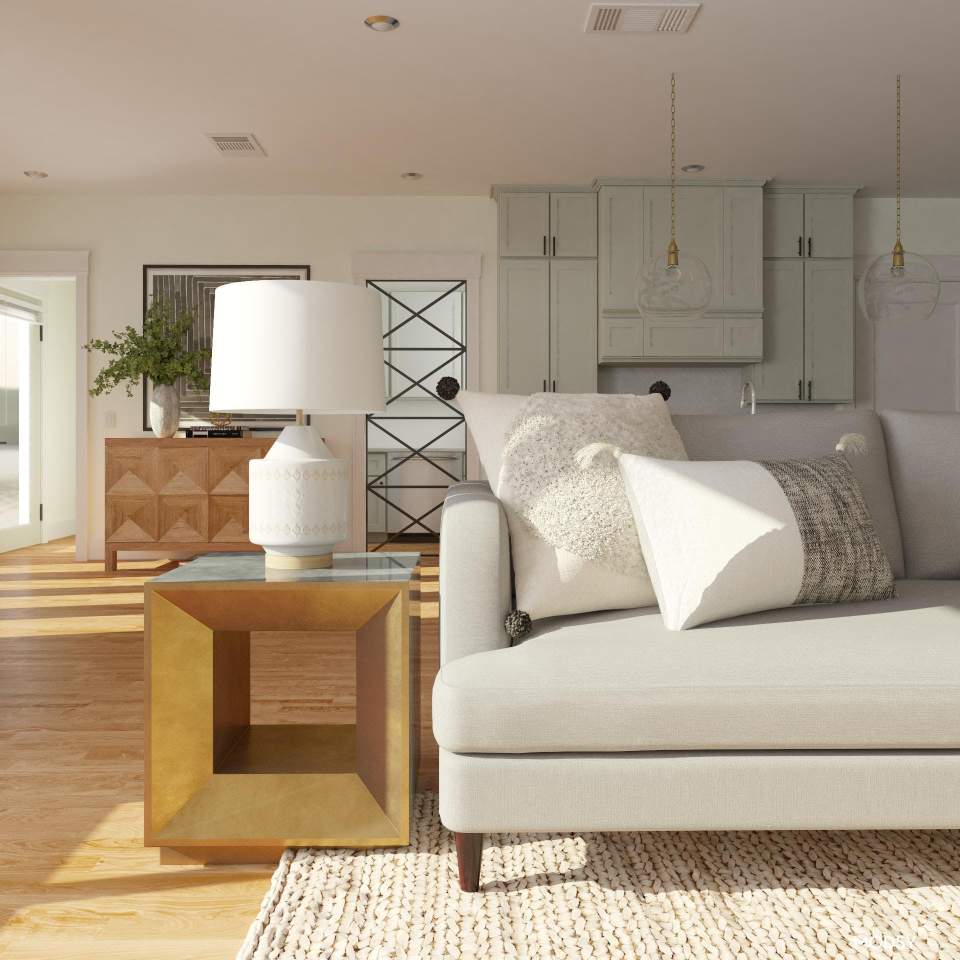 Contemporary Living Room Design: Finishing Touches