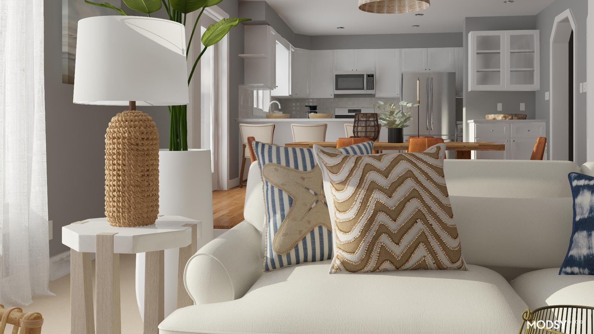 Earth And Water: Coastal Living Room