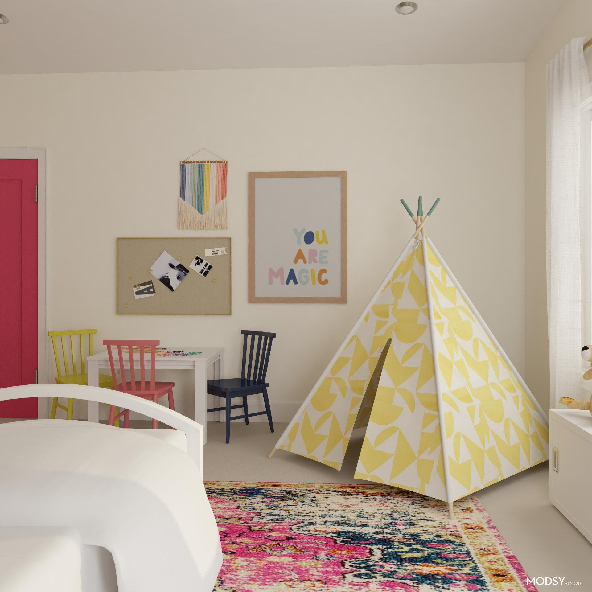 Creative Space: Kid's Room