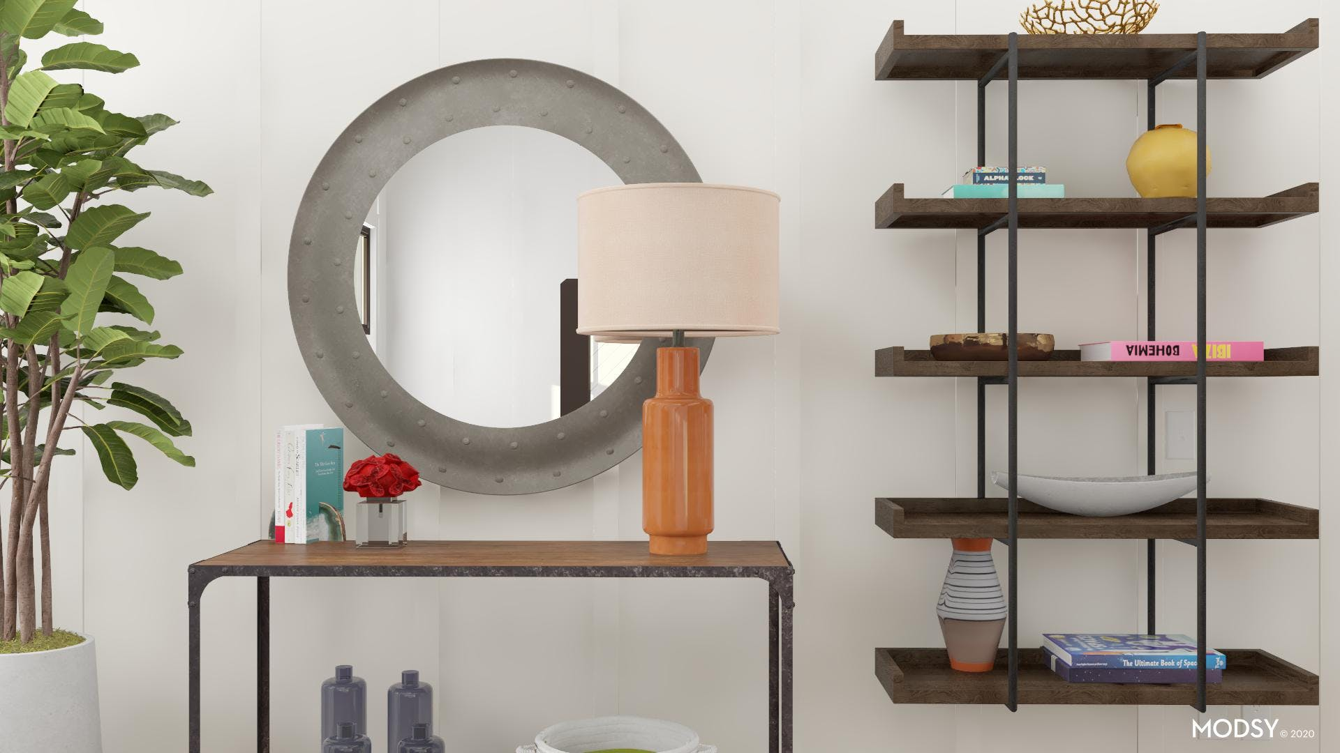 Incorporating Bright Colors Into An Industrial Design