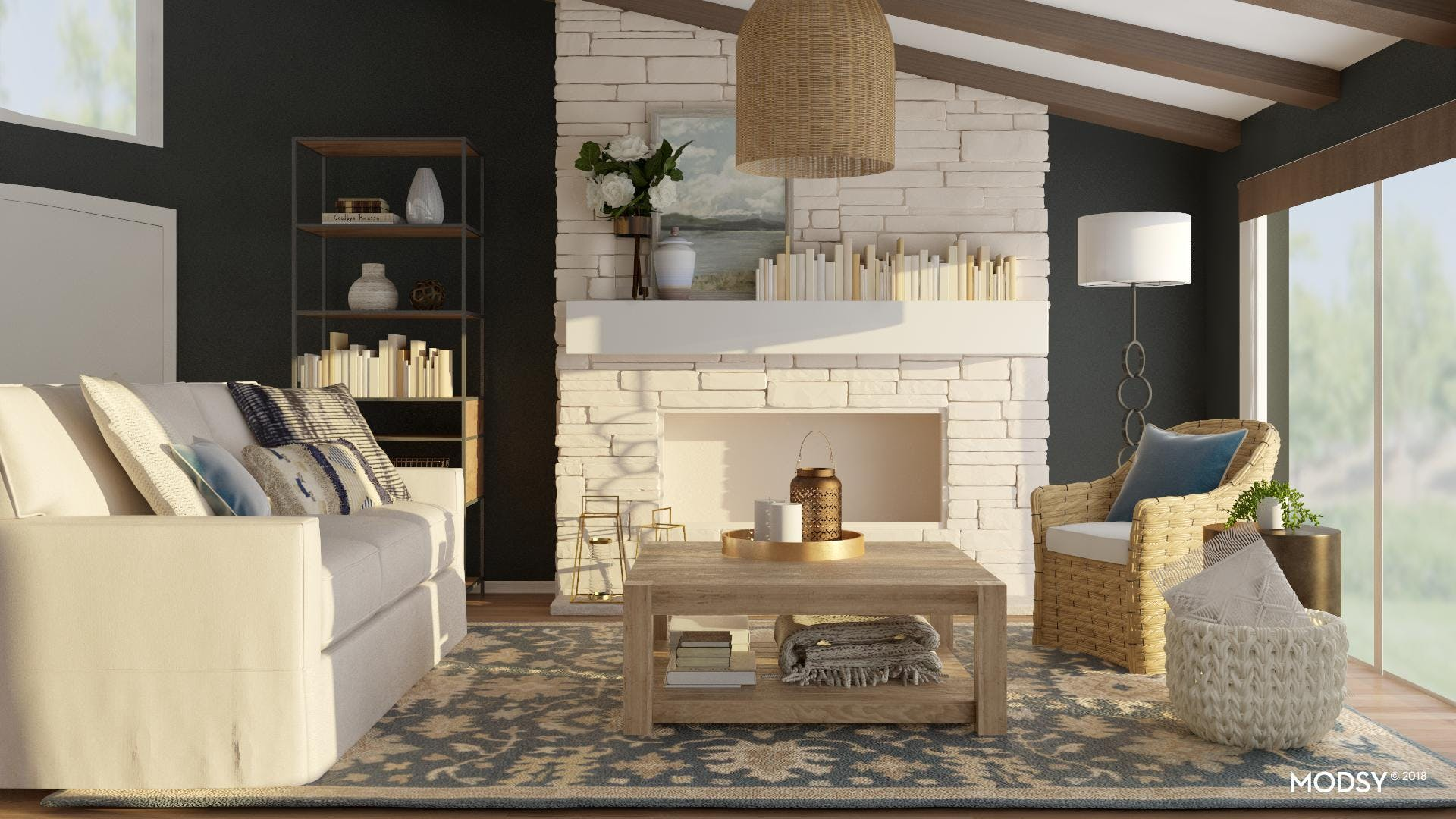 Liven Up The Modern Farmhouse Look