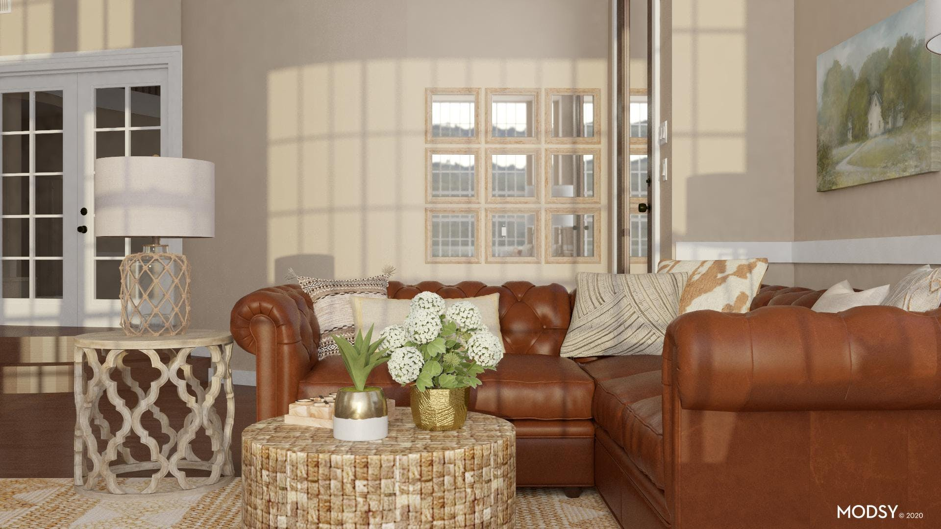 Repeating Patterns: Rustic Style