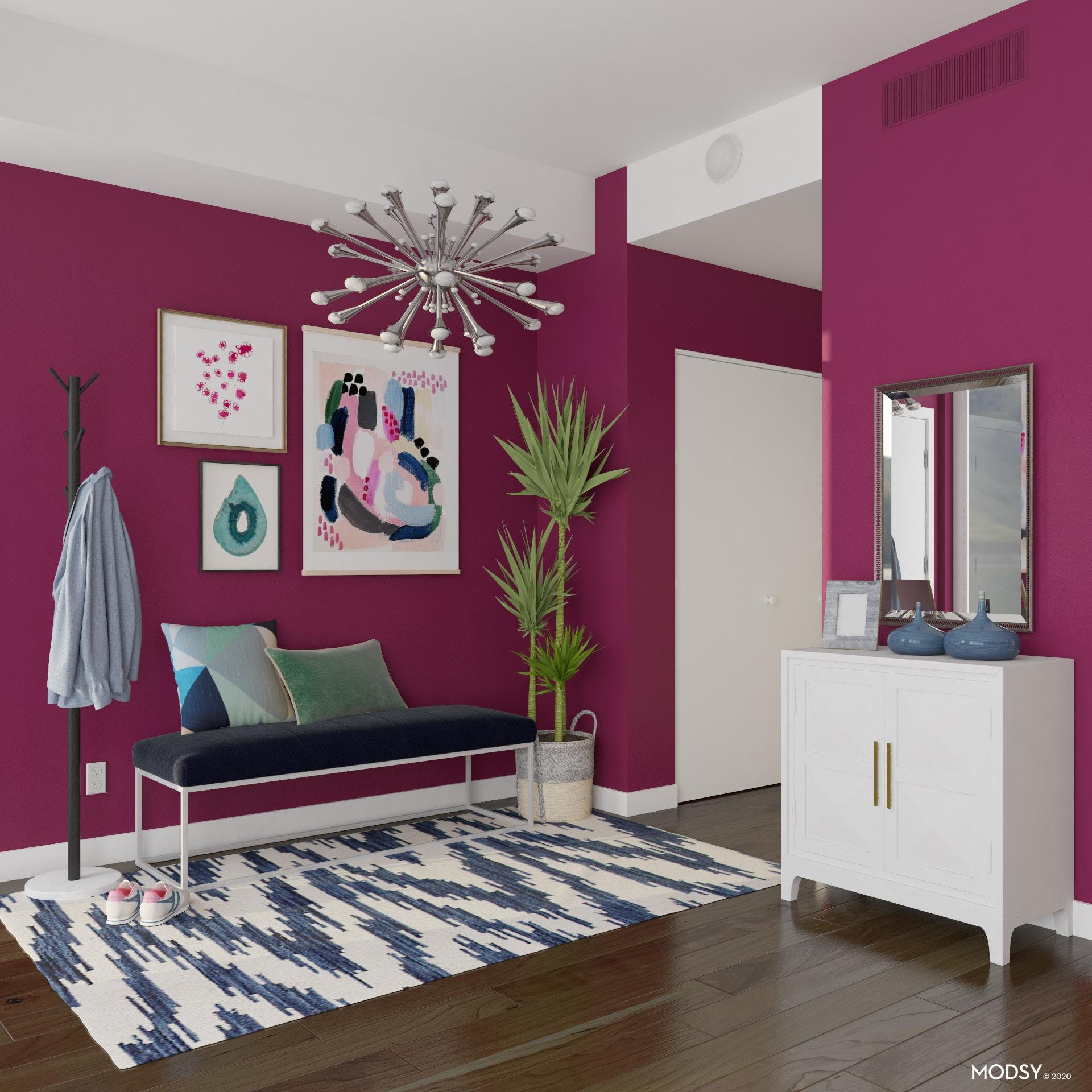 Pops Of PInk For All Spaces