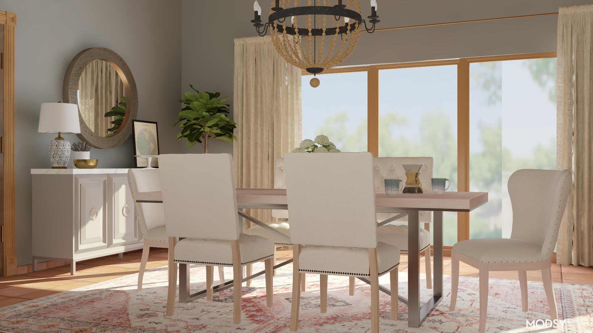Casual Sophistocate: Dining Room