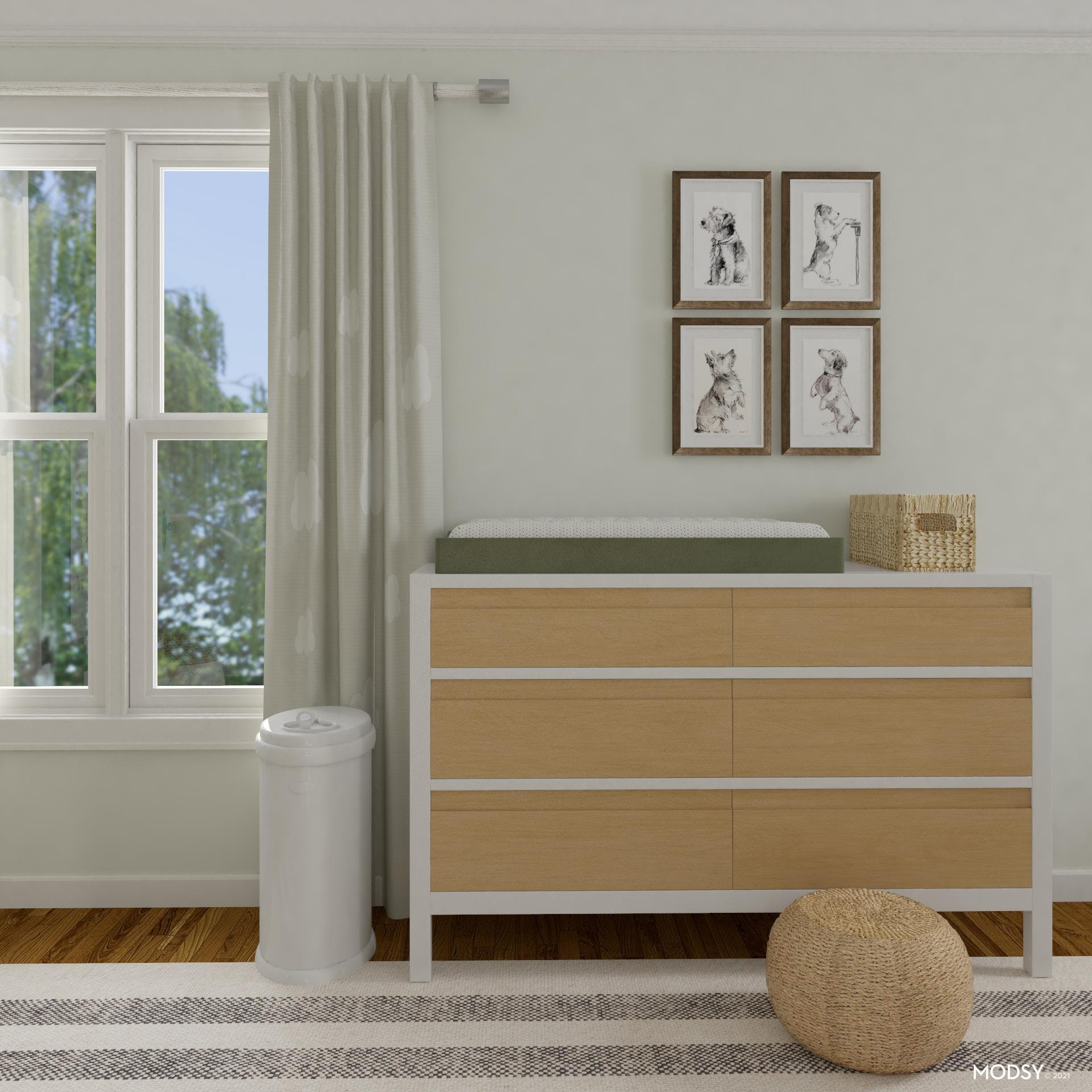 A Stylish Changing Table