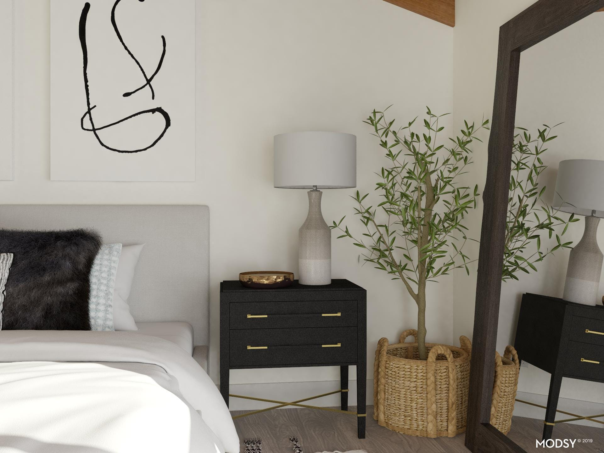 Mixing Masculine and Feminine in Your Bedroom
