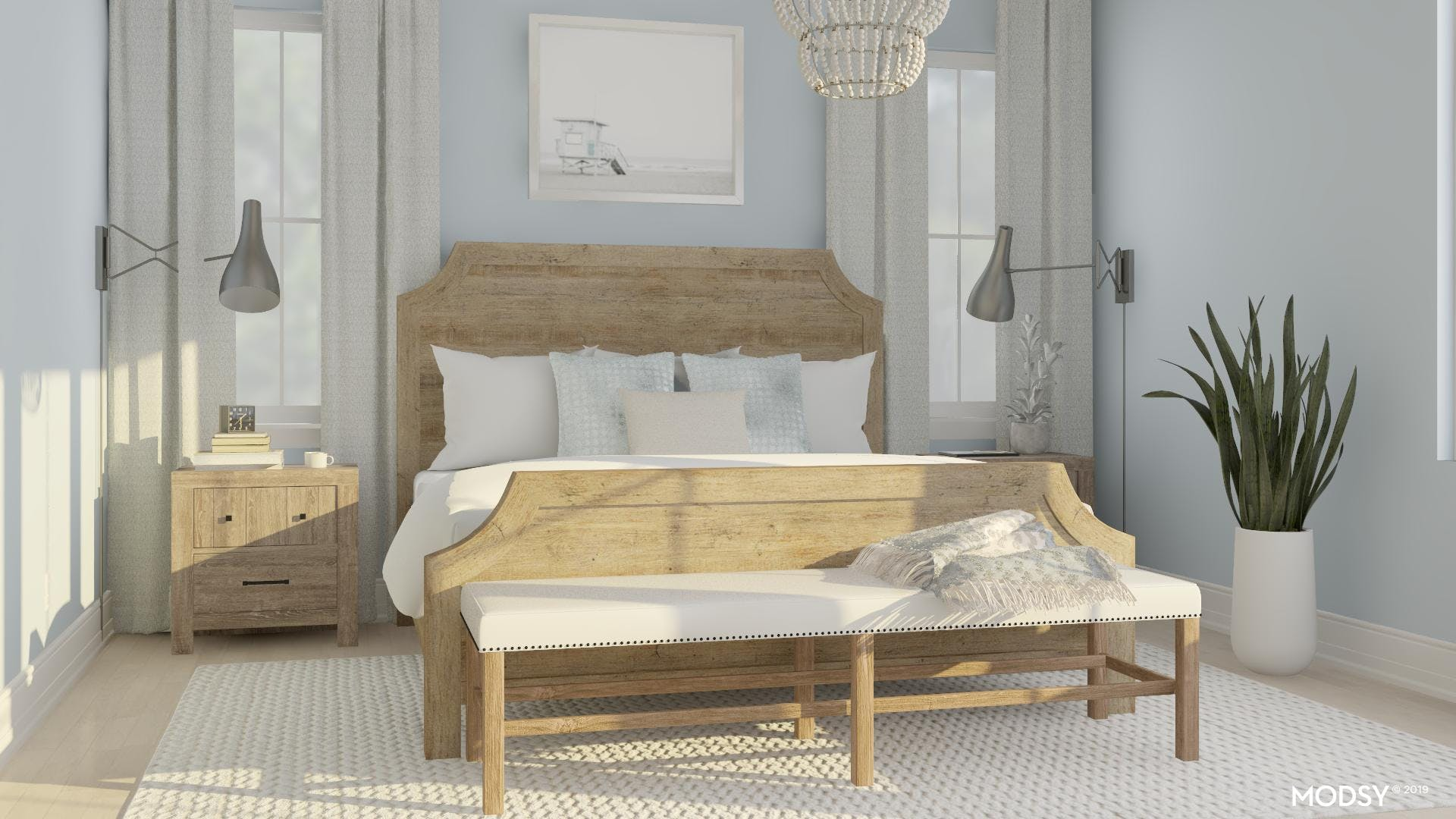 Rustic Bedroom With A Cape Cod Twist