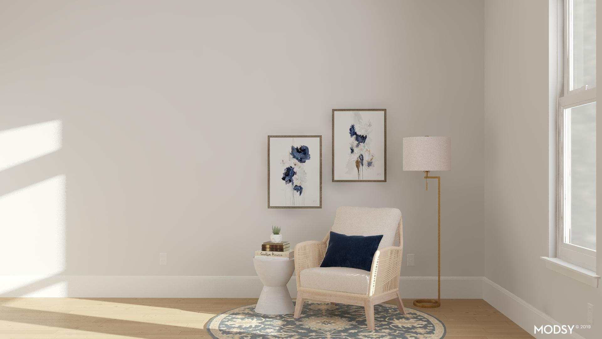 Classic And Round: Seating Nook