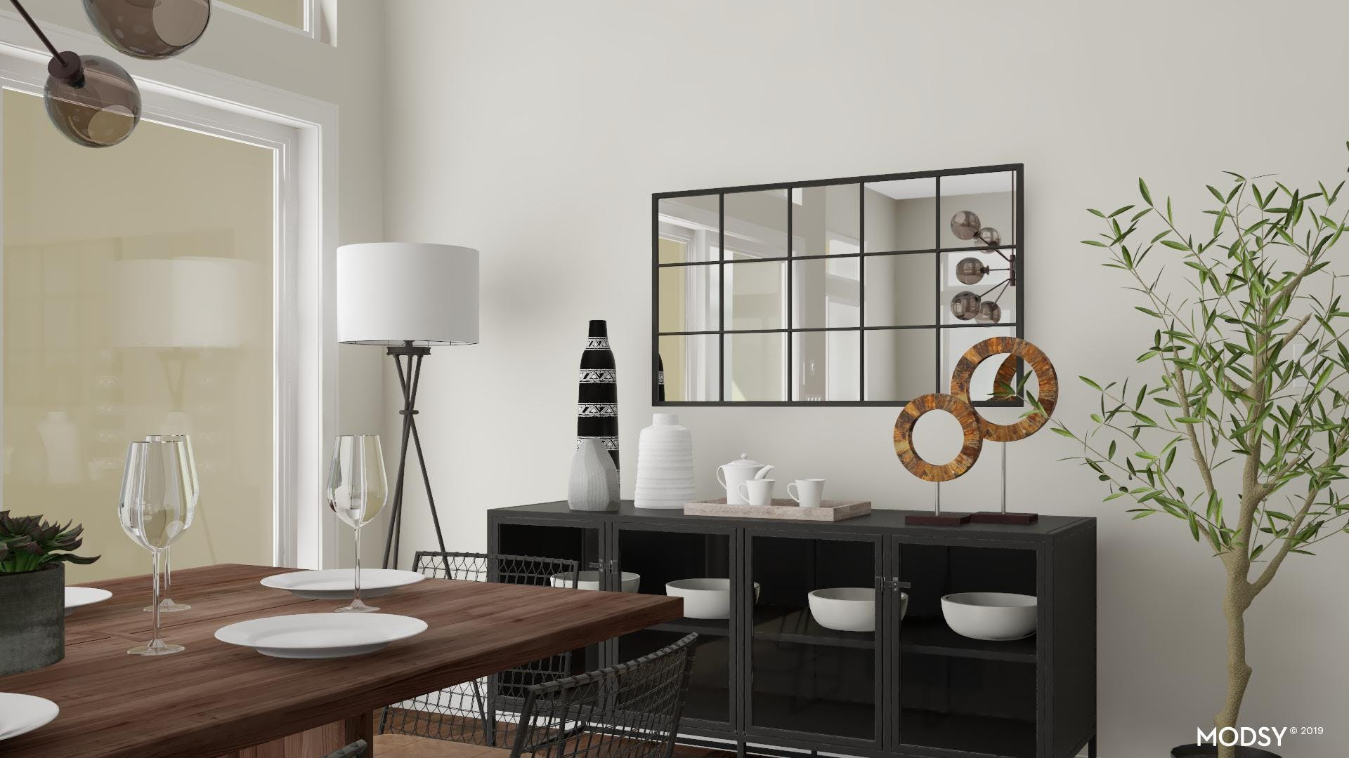 Neutral Dining In Comfort
