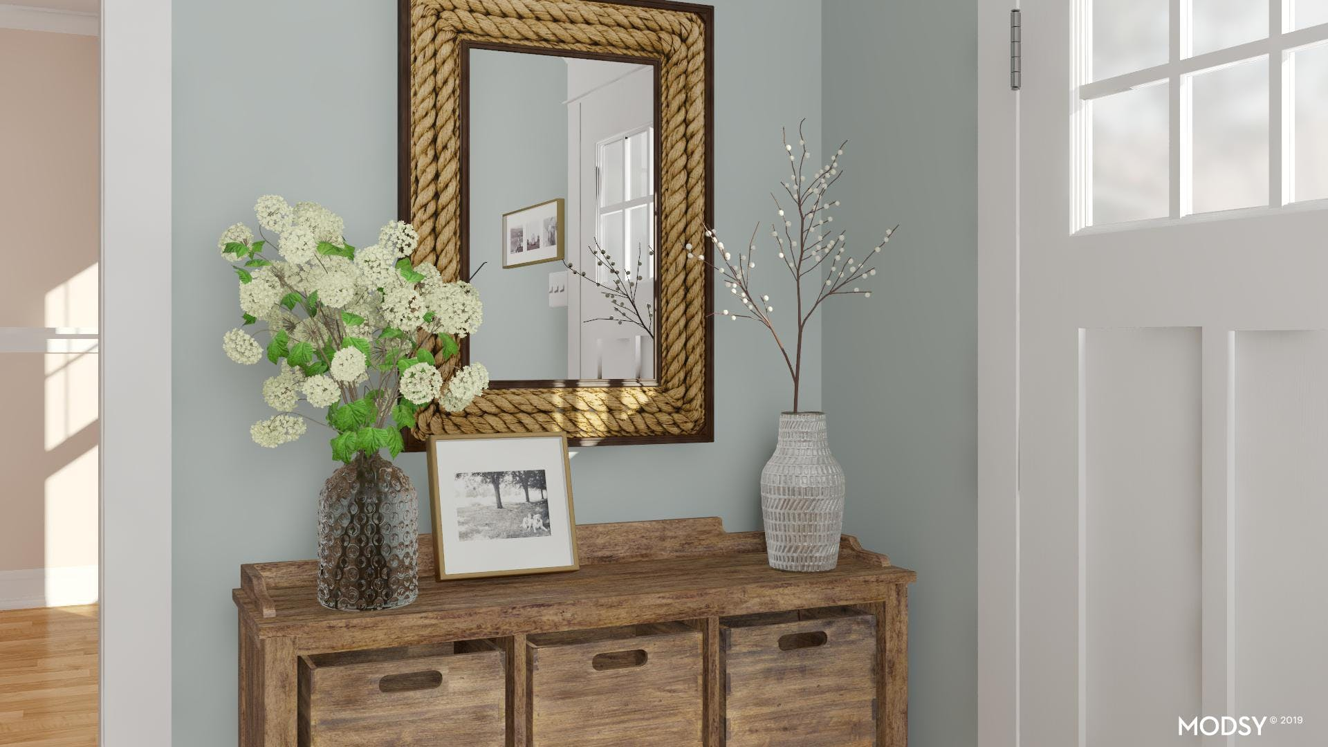 Rustic Entry In Naturals