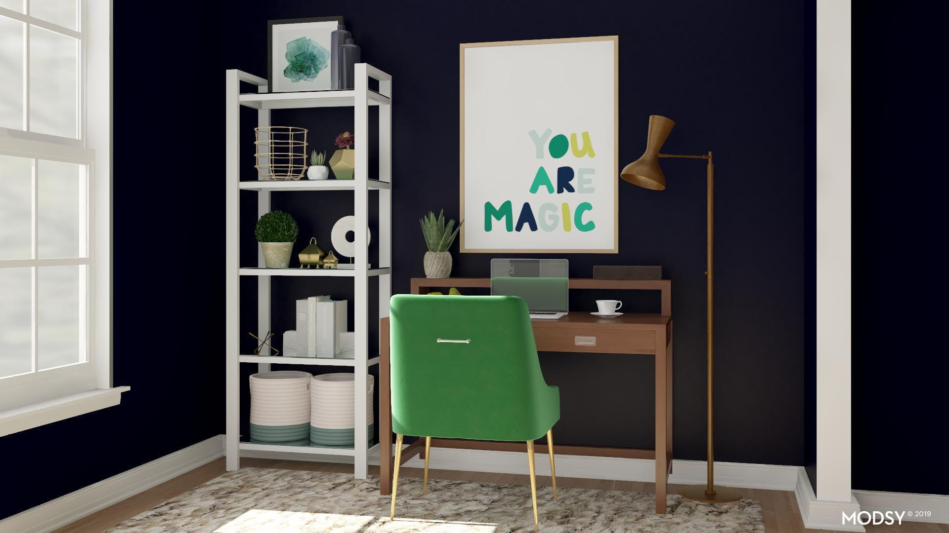 Saturated With Color & Light: Office