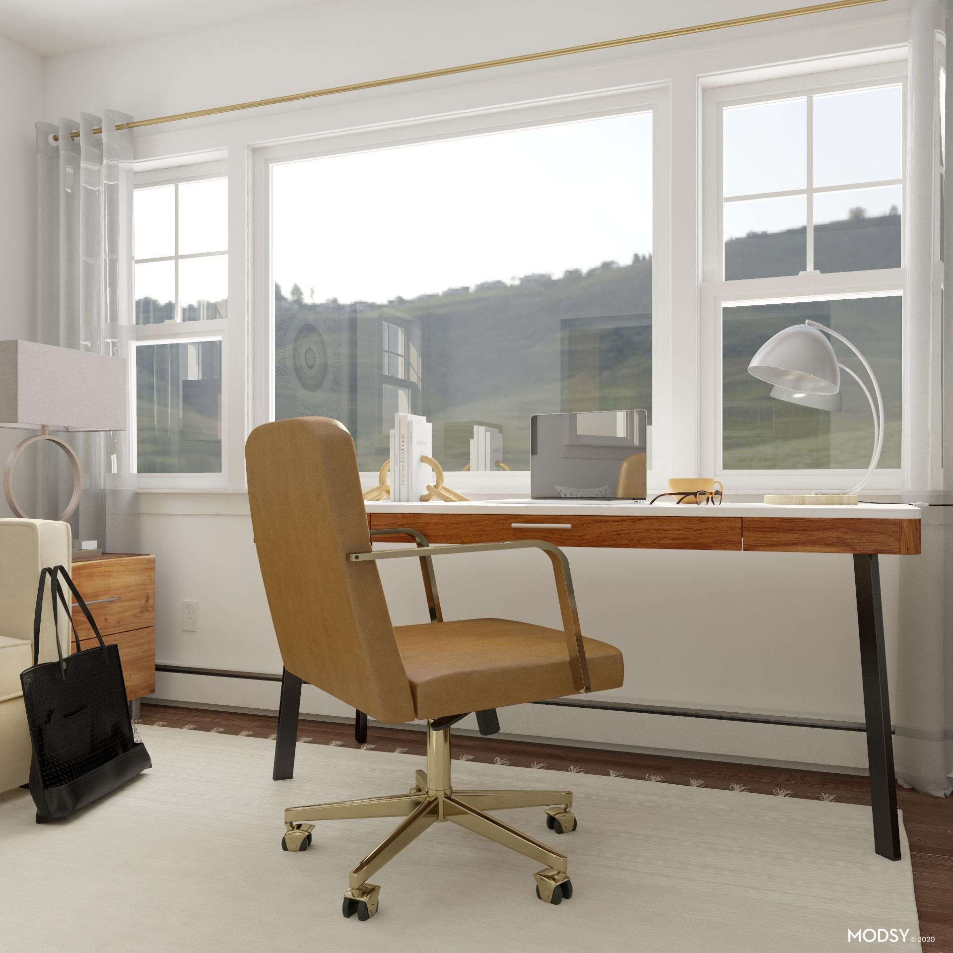 Workspace With A View: Modern Office