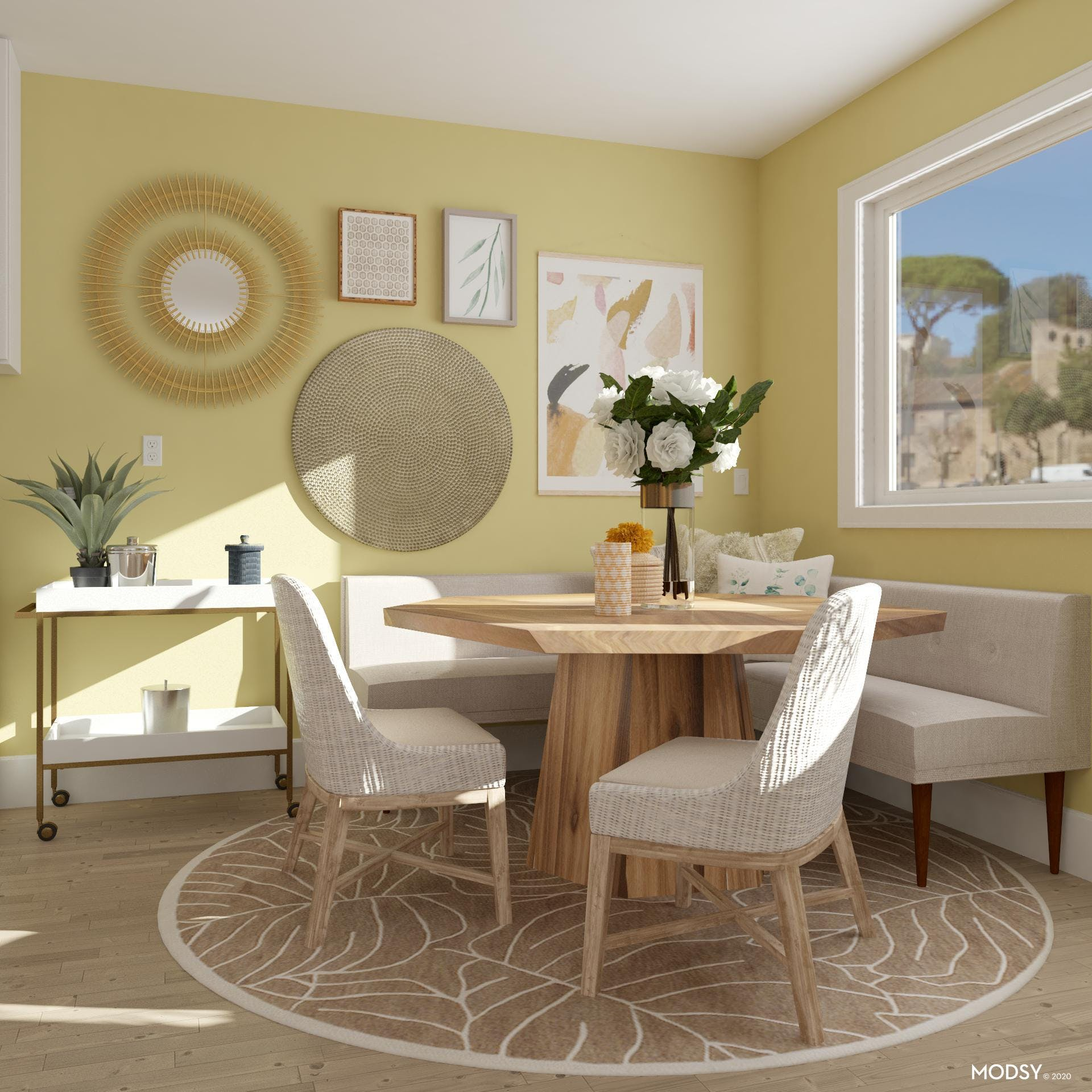 Let the Sunshine in Breakfast Nook