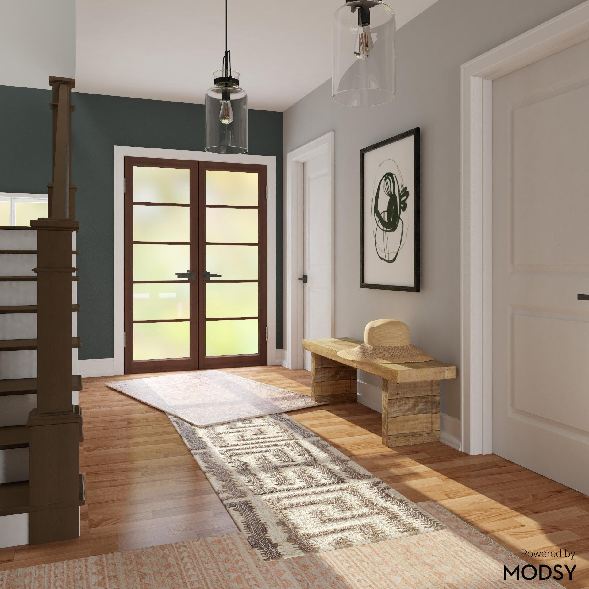 Let Style Lead the Way Entryway