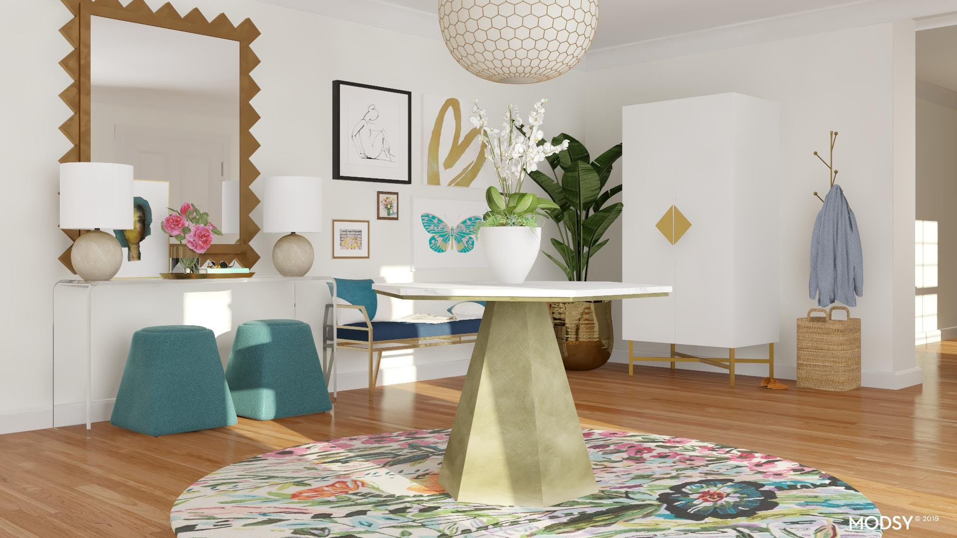 Oversized Decor: Making The Space