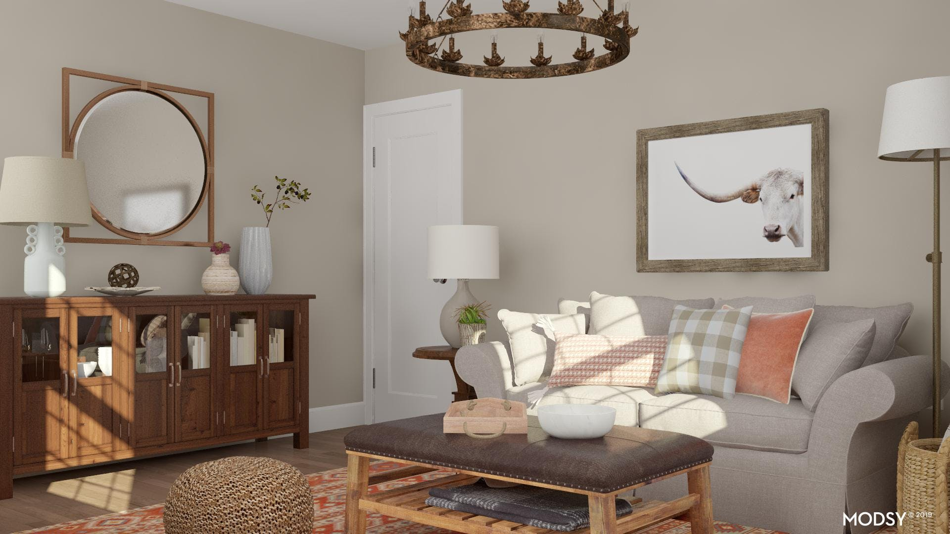 Rustic Meets Traditional
