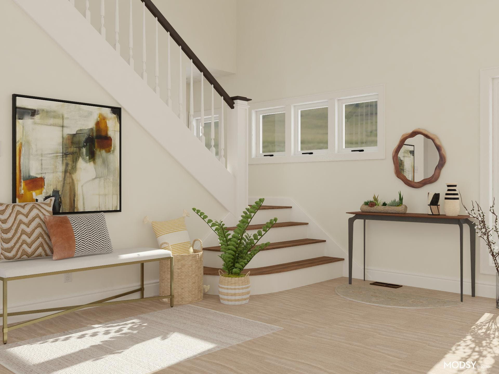 Neutral Entry: Mid-Century