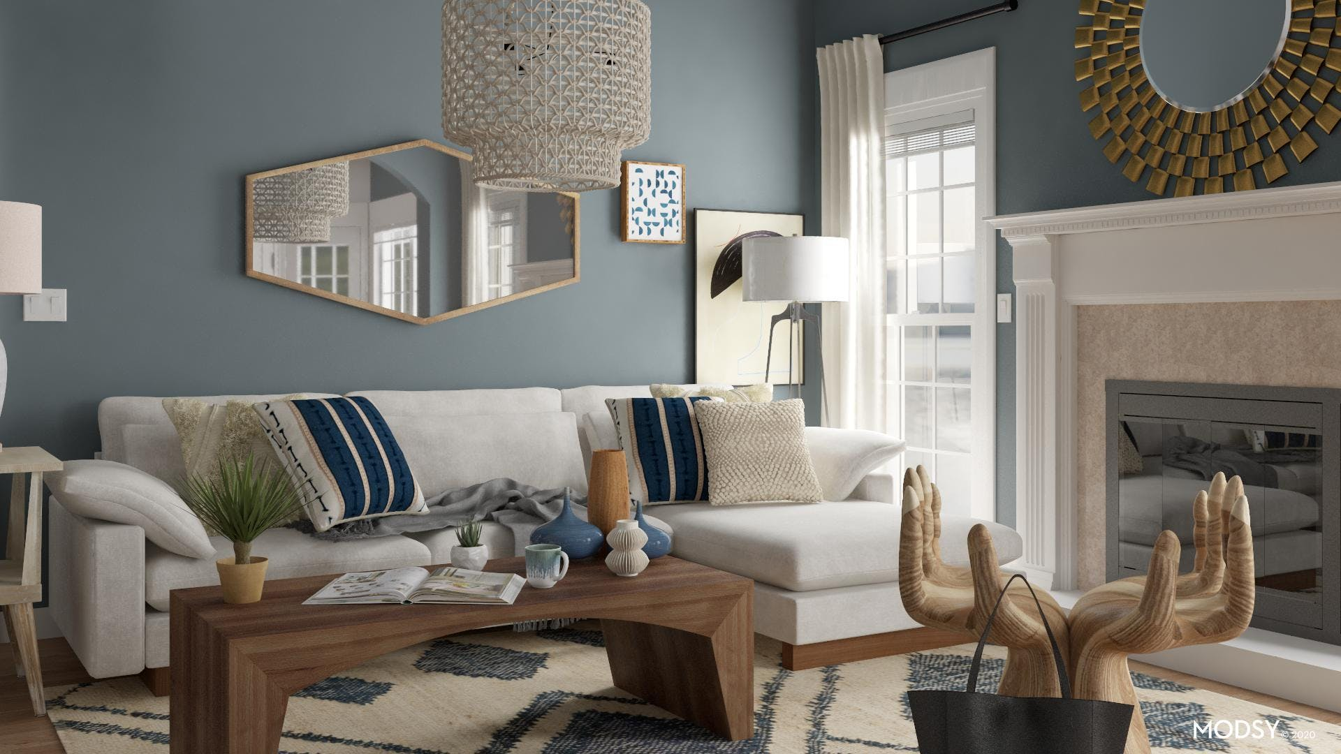 Having Fun With Eclectic: Living Room