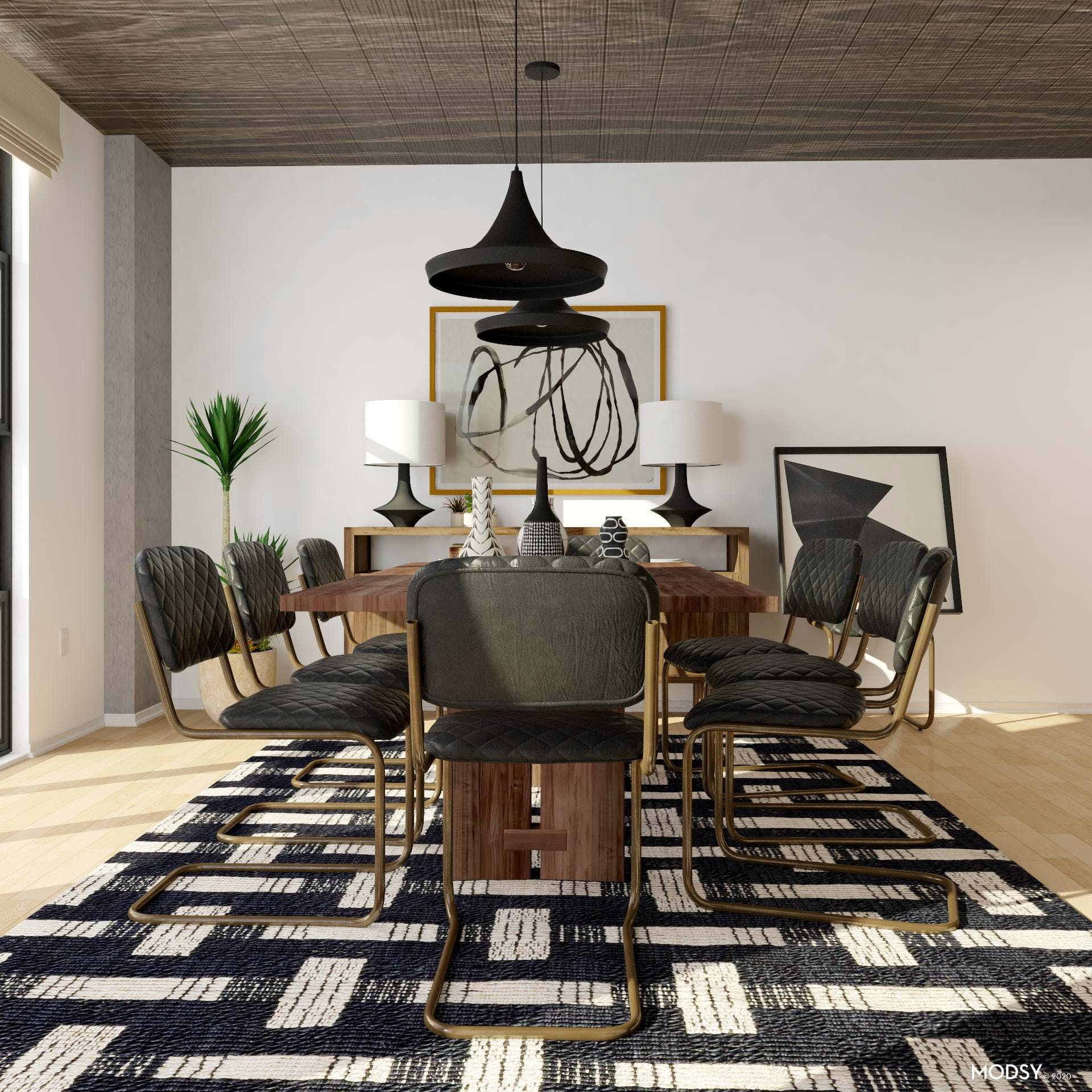 Dining Room Design: Minimal And Neutral